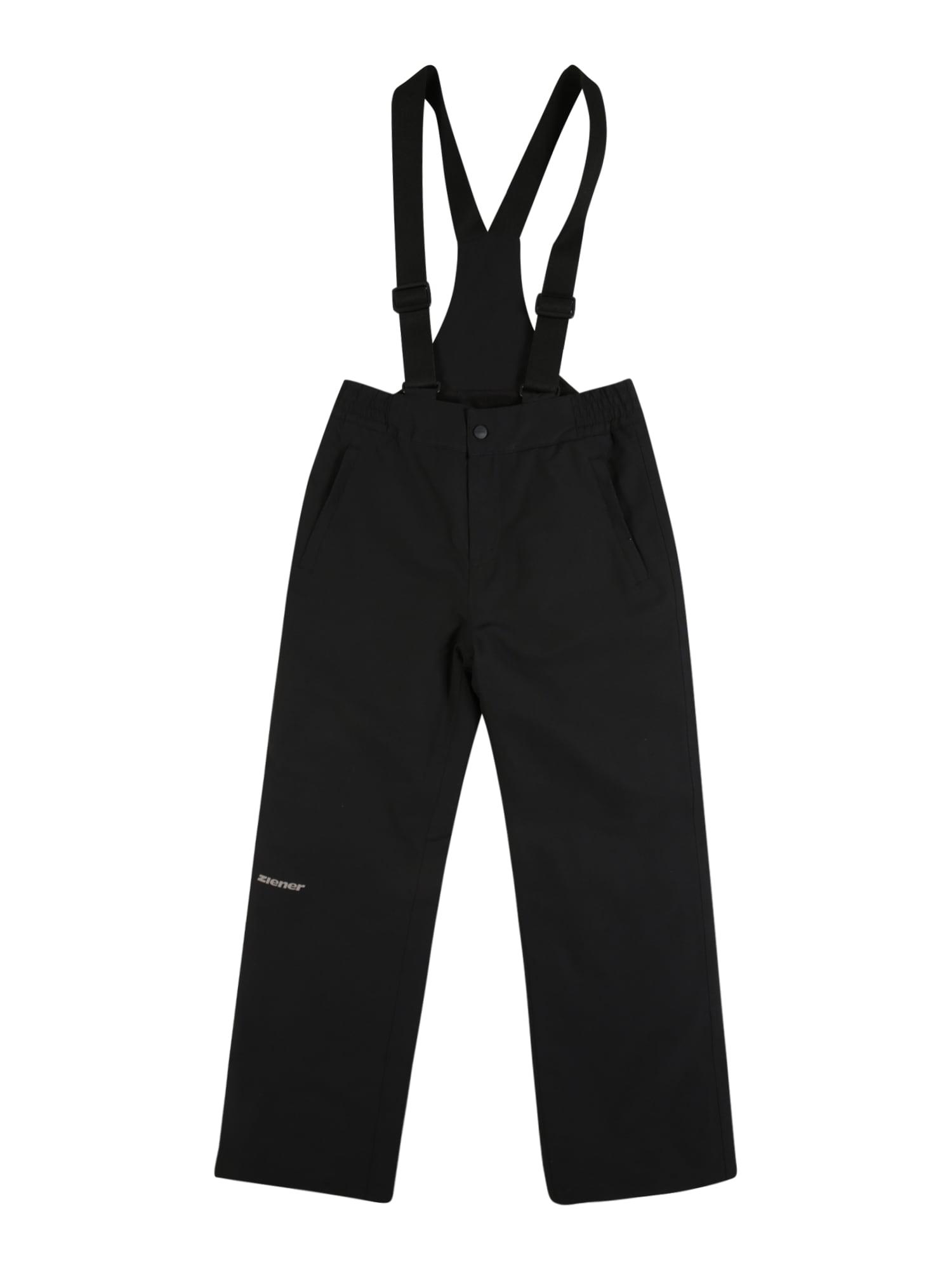 ZIENER Outdoorové kalhoty 'ALENKO'  černá