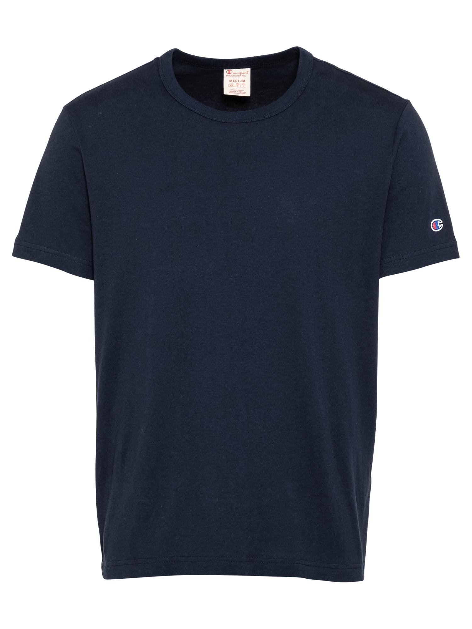 Champion Reverse Weave Marškinėliai tamsiai mėlyna