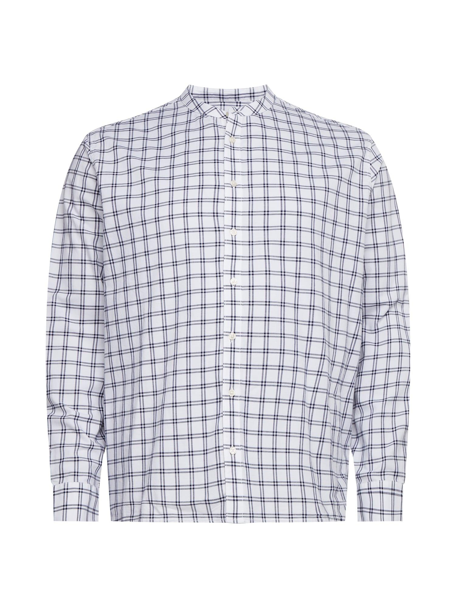 BURTON MENSWEAR LONDON Dalykinio stiliaus marškiniai balta / tamsiai mėlyna