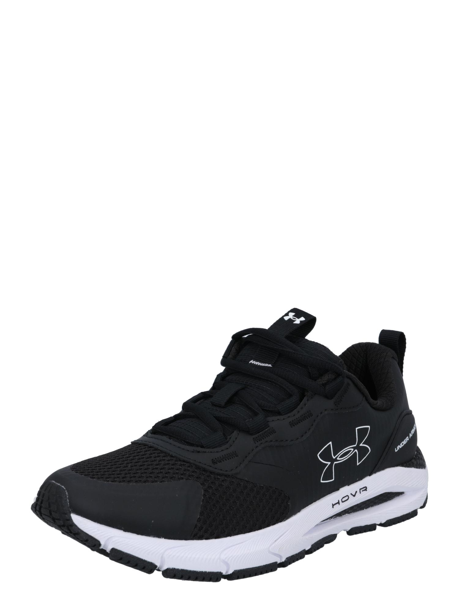 UNDER ARMOUR Bėgimo batai juoda / balta
