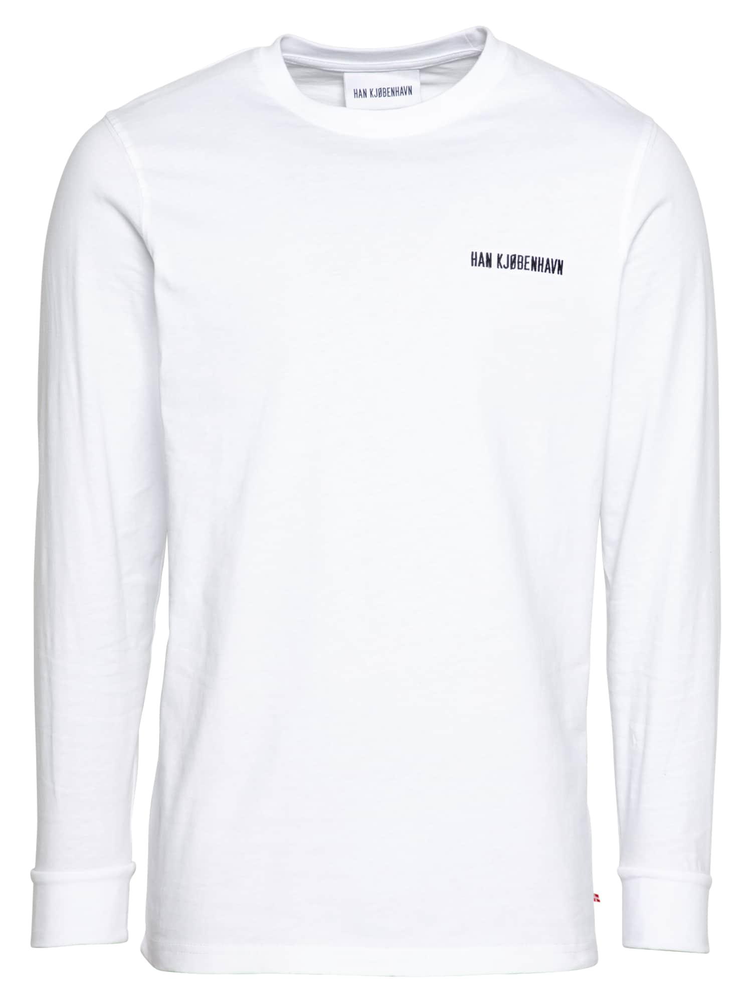 Han Kjøbenhavn Marškinėliai balkšva / juoda