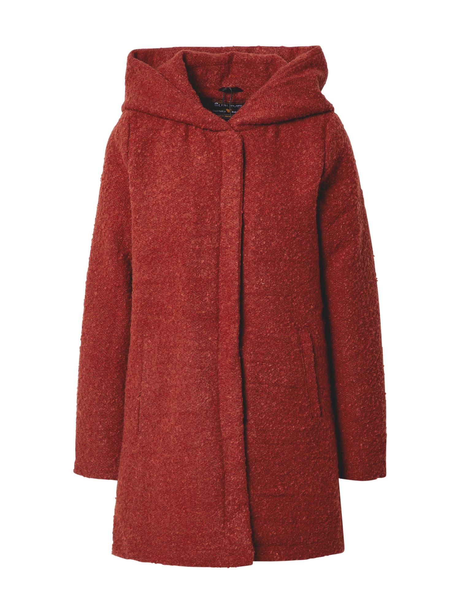 Sublevel Demisezoninis paltas rūdžių raudona