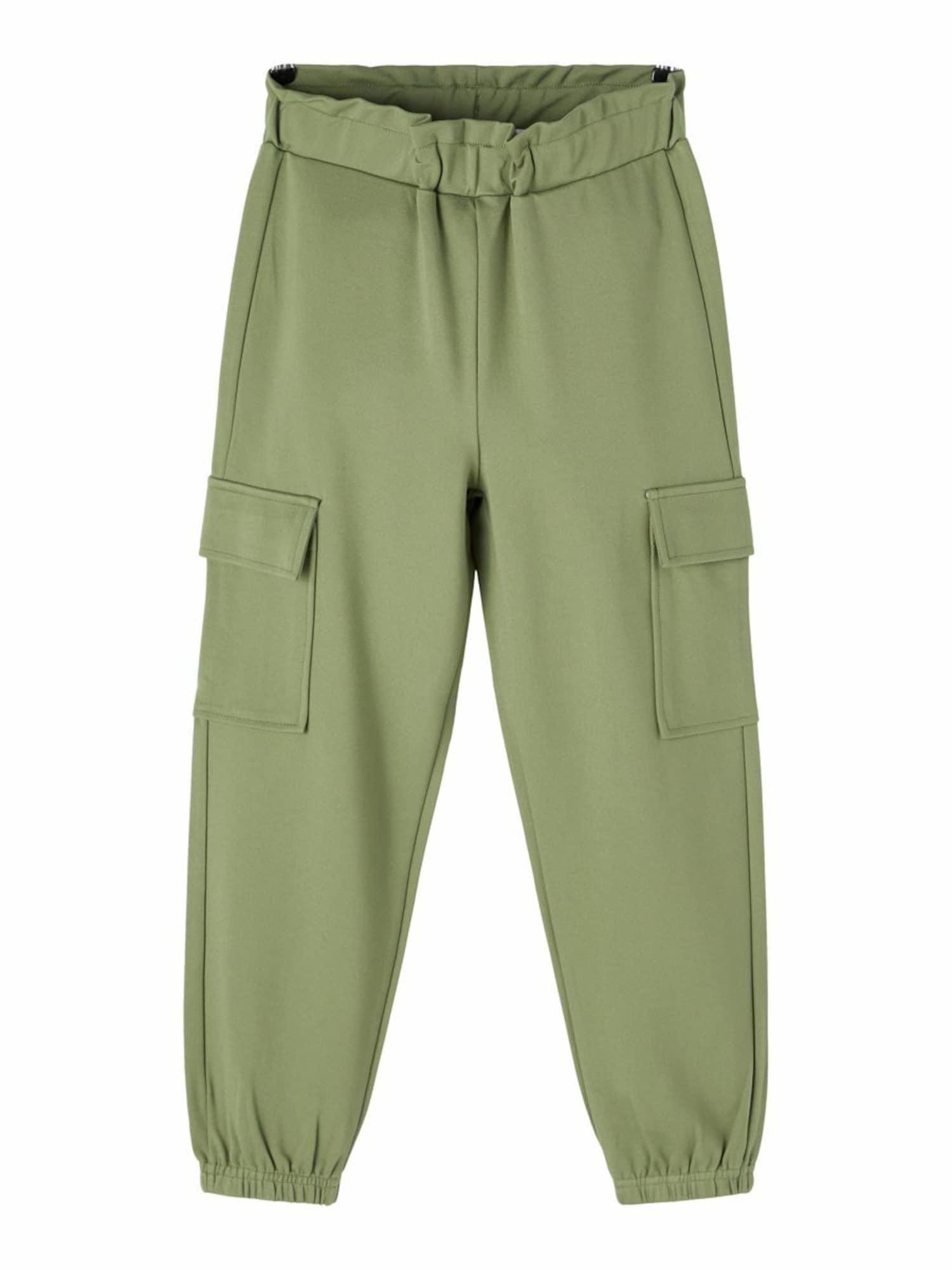 NAME IT Kalhoty  olivová
