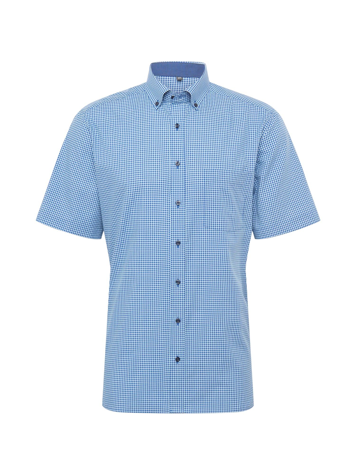 ETERNA Marškiniai turkio spalva / mėlyna / balta