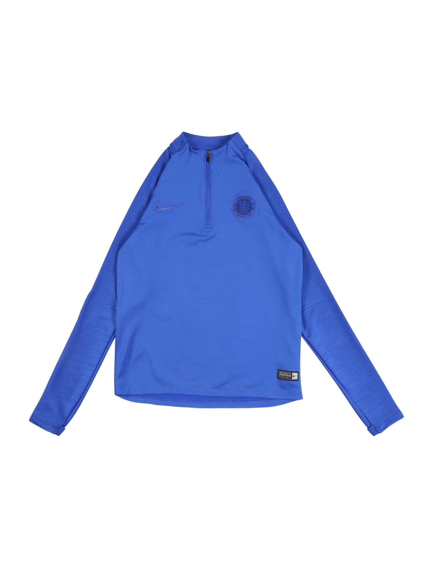 NIKE Športový sveter 'Chelsea FC Strike'  kráľovská modrá
