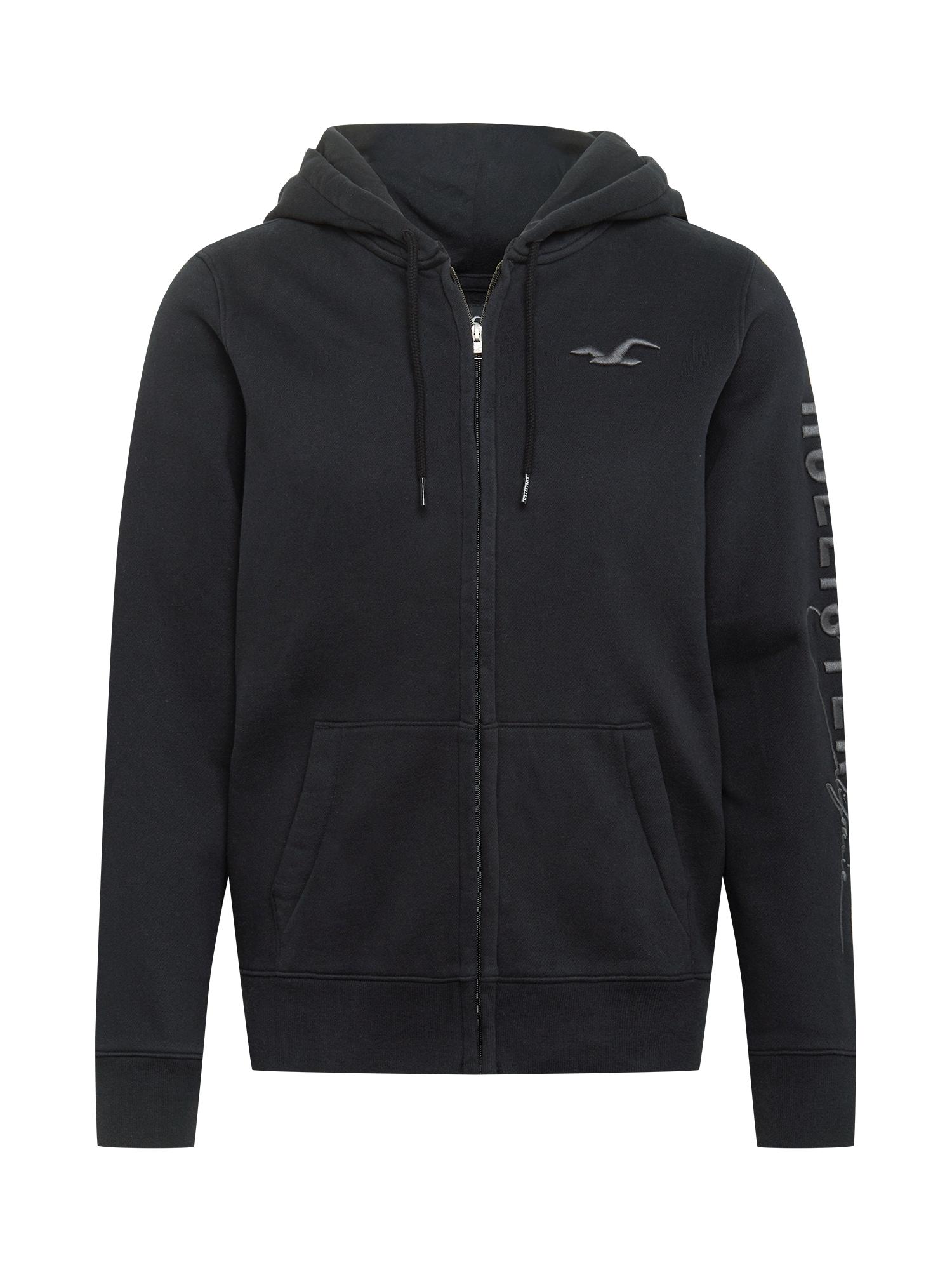 HOLLISTER Džemperis juoda / pilka