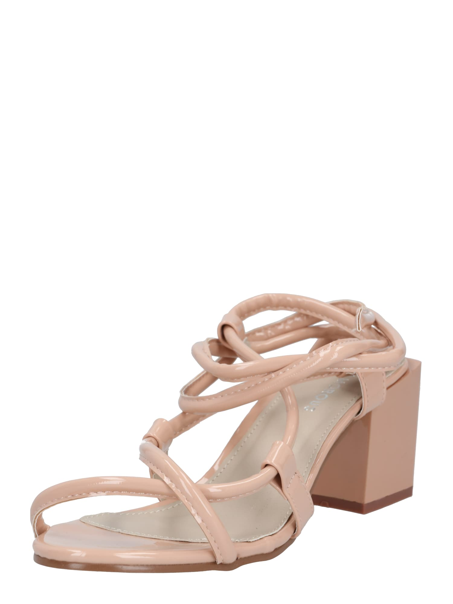 GLAMOROUS Sandály 'FW6227'  tělová