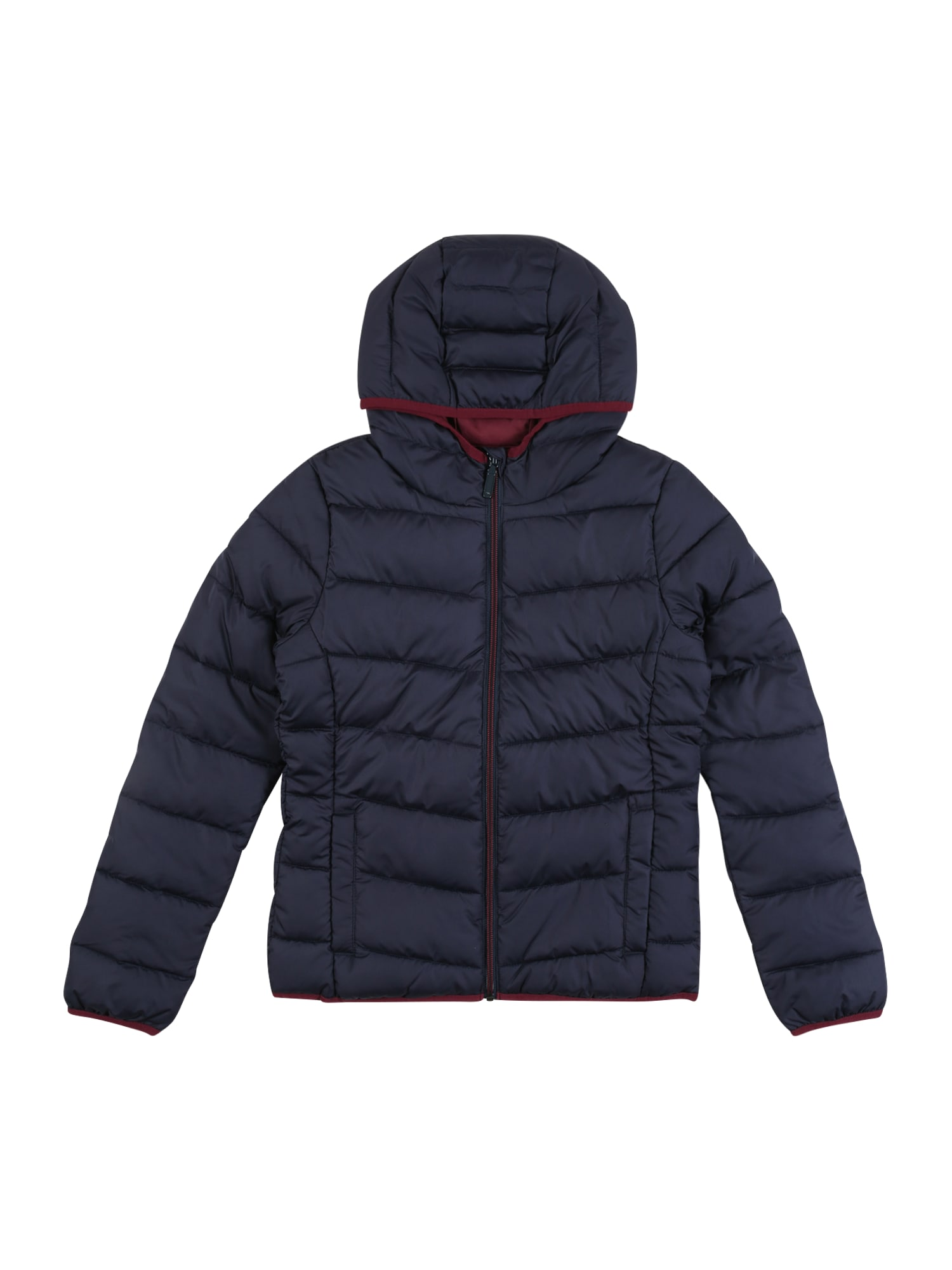 s.Oliver Junior Prechodná bunda  červená / námornícka modrá