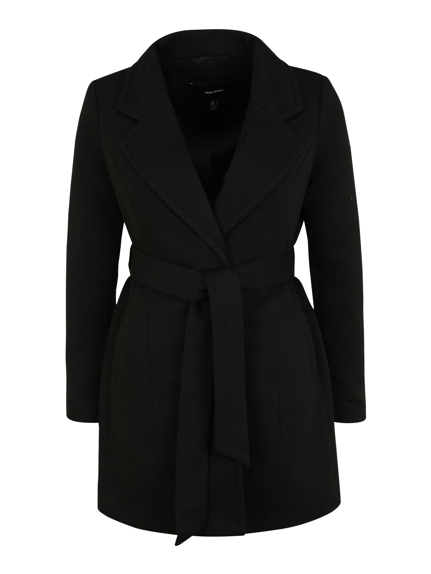 Vero Moda Petite Přechodný kabát 'Verodona'  černá