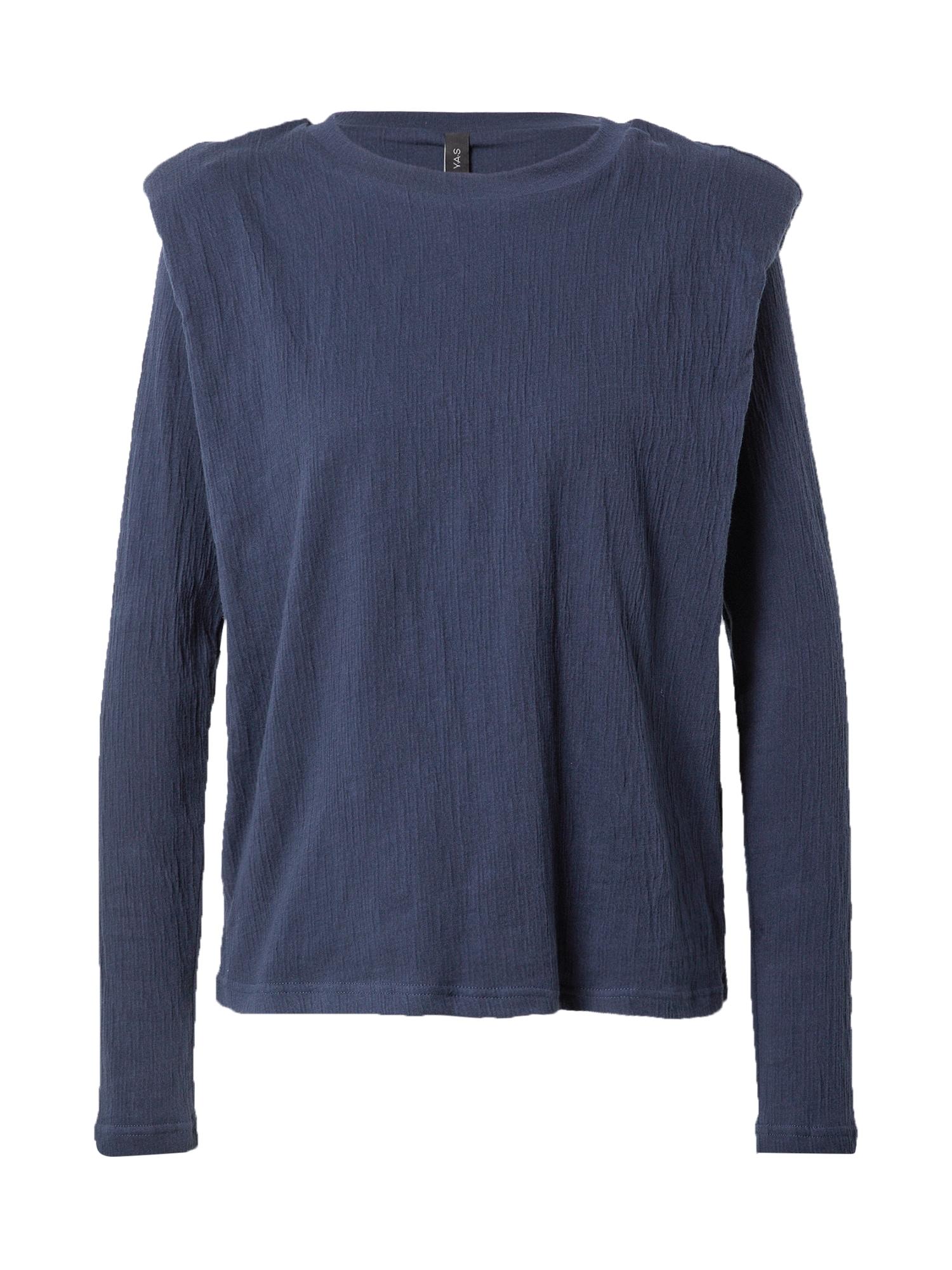 Y.A.S Marškinėliai tamsiai mėlyna jūros spalva