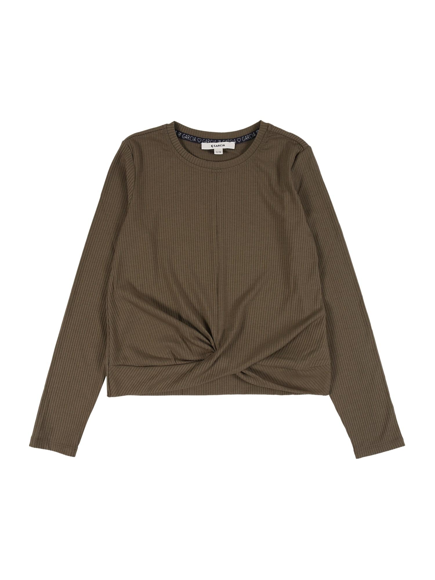 GARCIA Marškinėliai alyvuogių spalva