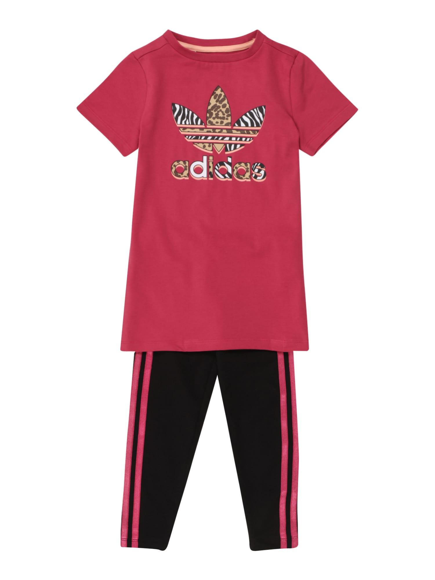 ADIDAS ORIGINALS Rinkinys rožinė / juoda / mišrios spalvos