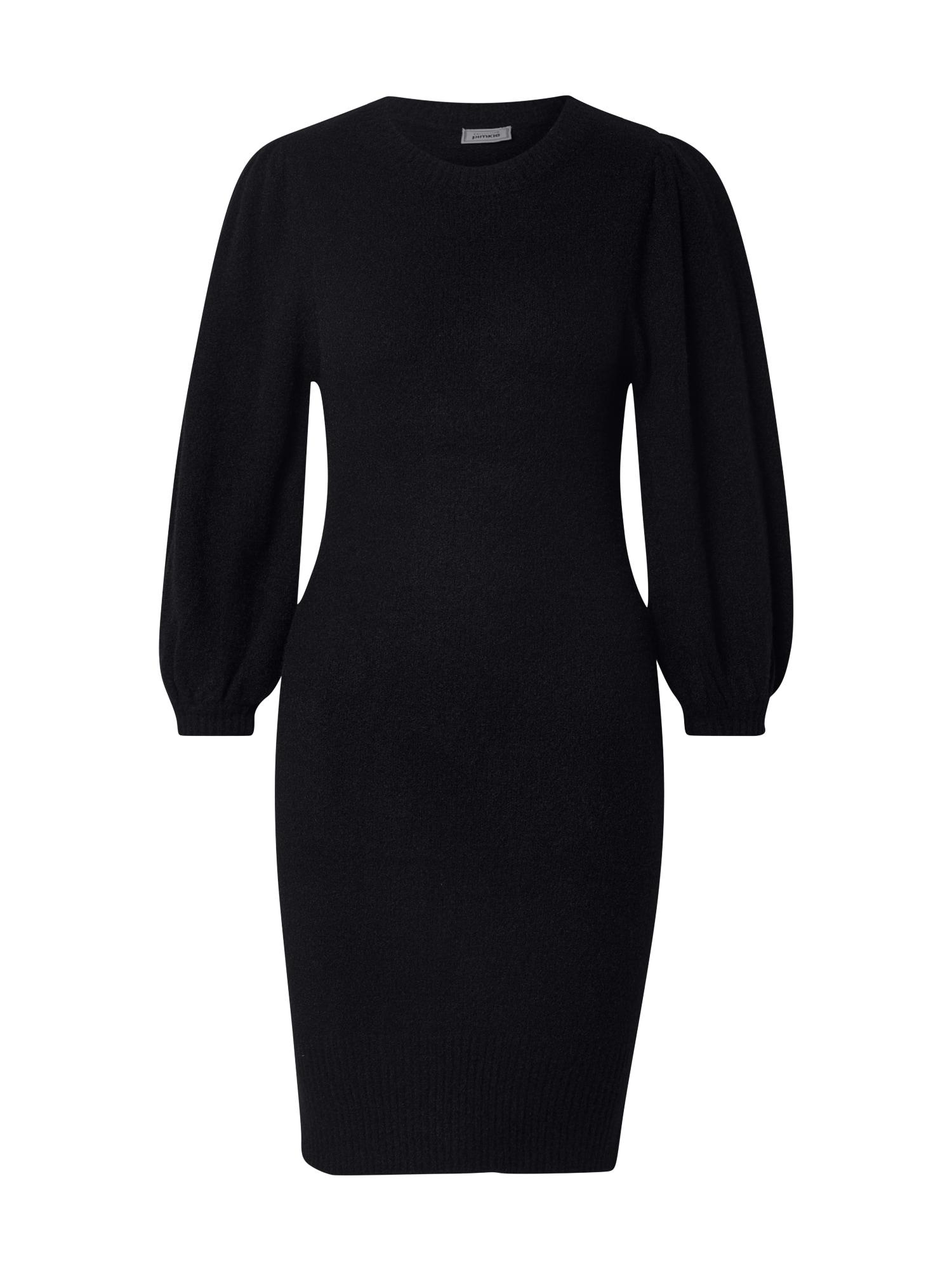 Pimkie Megzta suknelė juoda