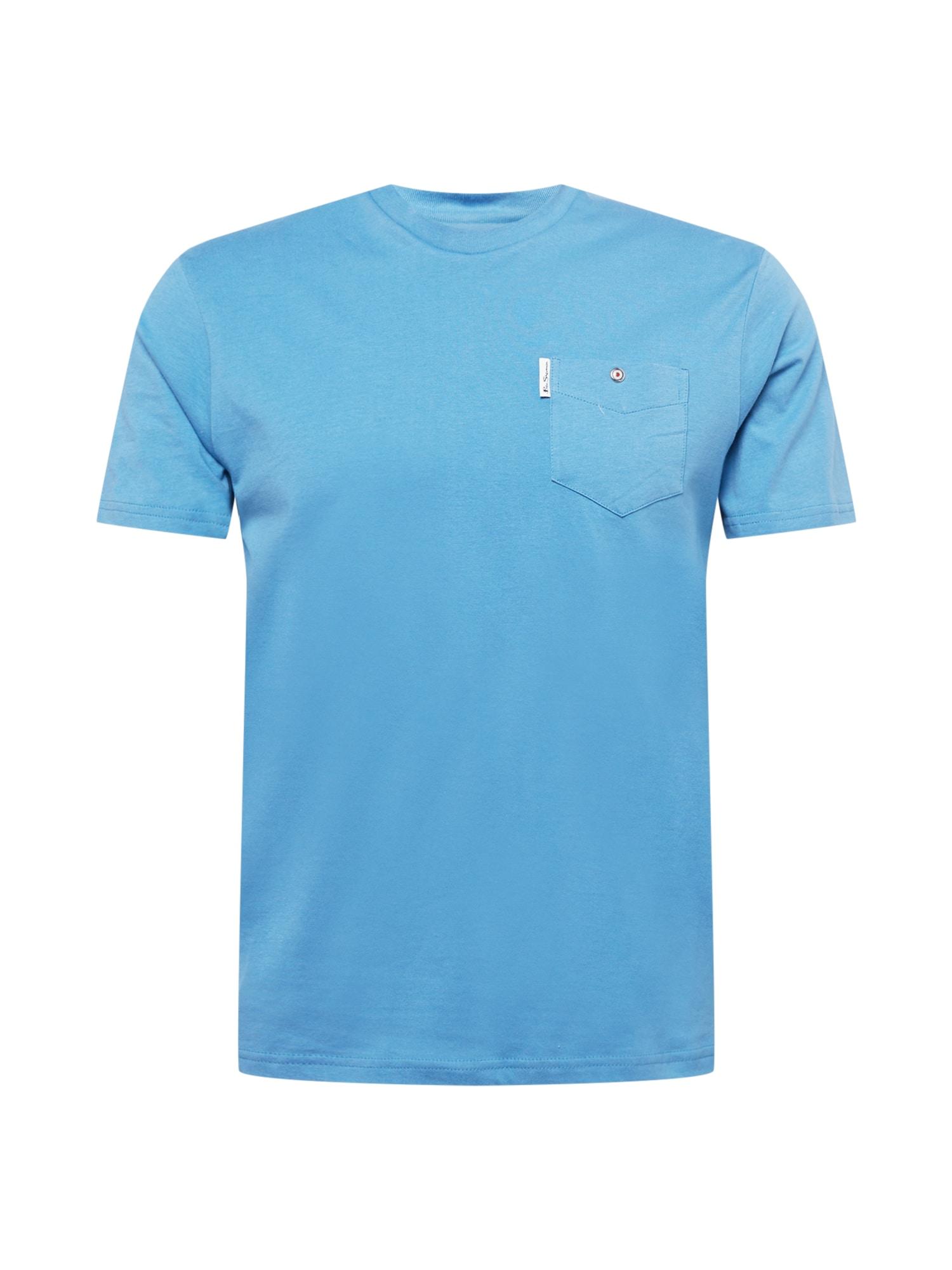 Ben Sherman Marškinėliai šviesiai mėlyna