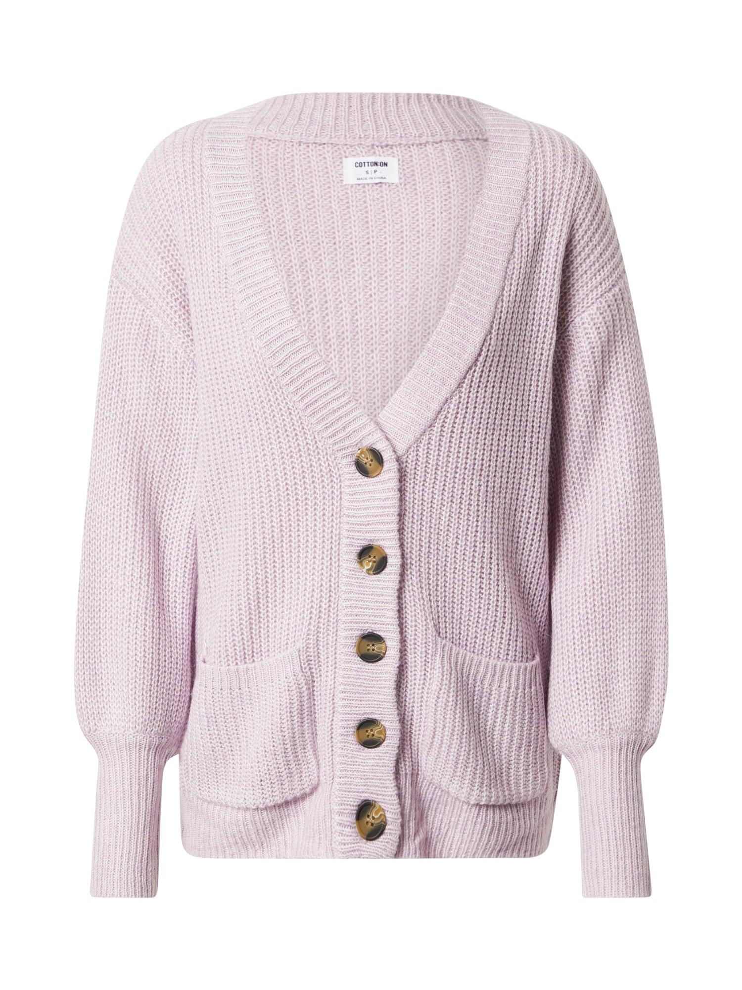 Cotton On Kardiganas šviesiai violetinė