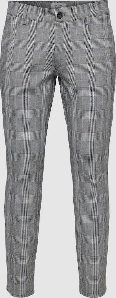 Only & Sons Mark Slim Tailored Check Trousers