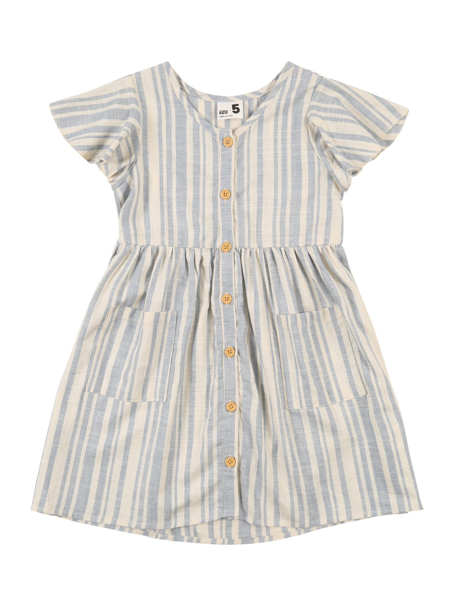 Cotton On Šaty 'Vanessa'  světlemodrá / starobéžová