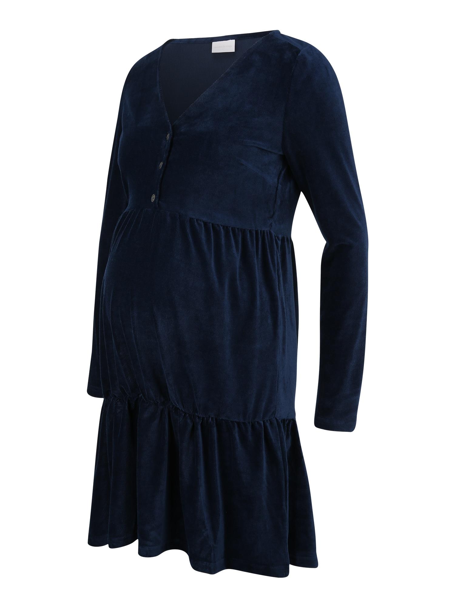 MAMALICIOUS Suknelė 'LIA' tamsiai mėlyna