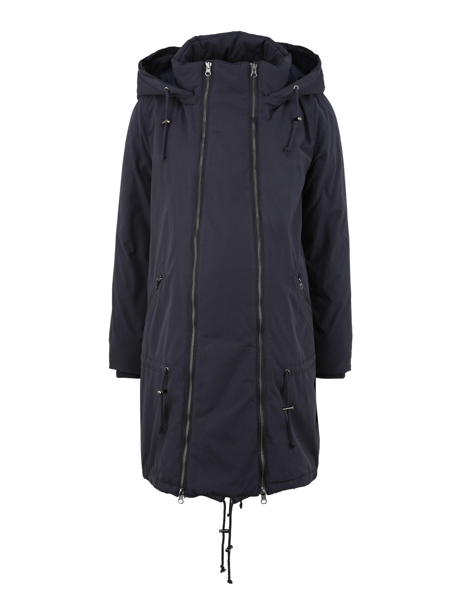 MAMALICIOUS Žieminis paltas 'Tikka Maddy' tamsiai mėlyna