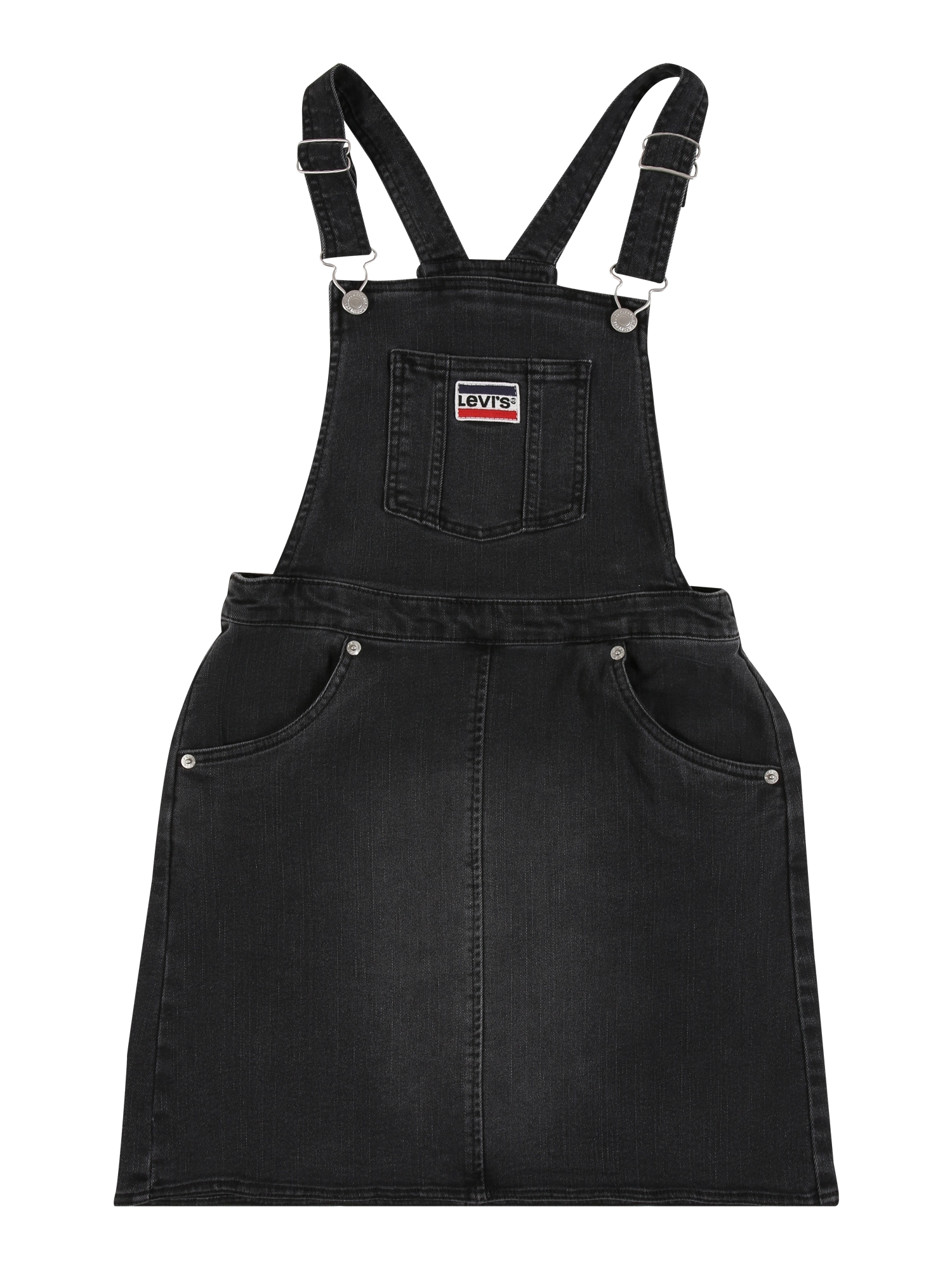 LEVI'S Suknelė juodo džinso spalva