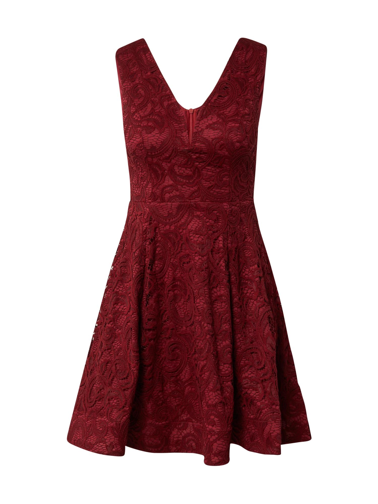 Skirt & Stiletto Suknelė vyno raudona spalva