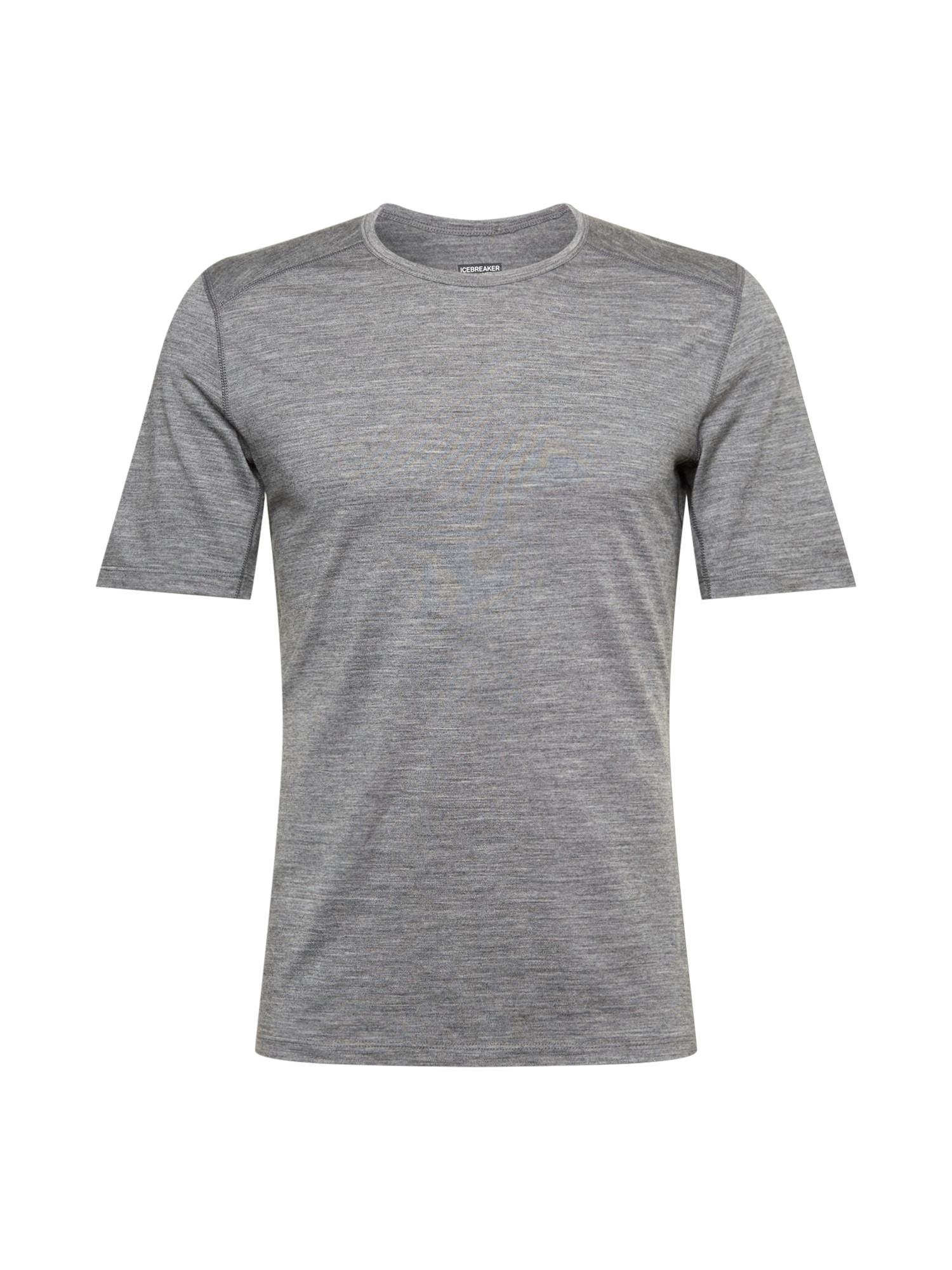Icebreaker Marškinėliai margai pilka