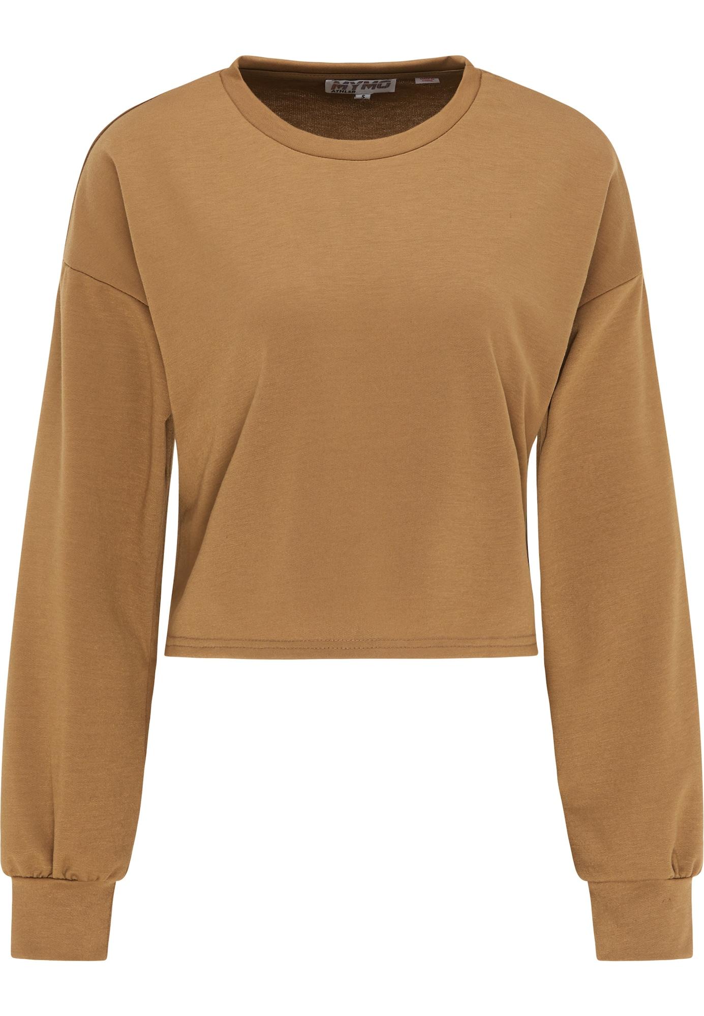 myMo ATHLSR Sportinio tipo megztinis šviesiai ruda