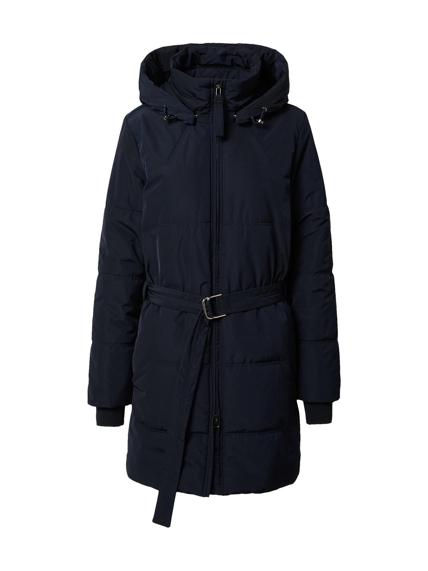 g-lab Žieminis paltas 'Mina' tamsiai mėlyna