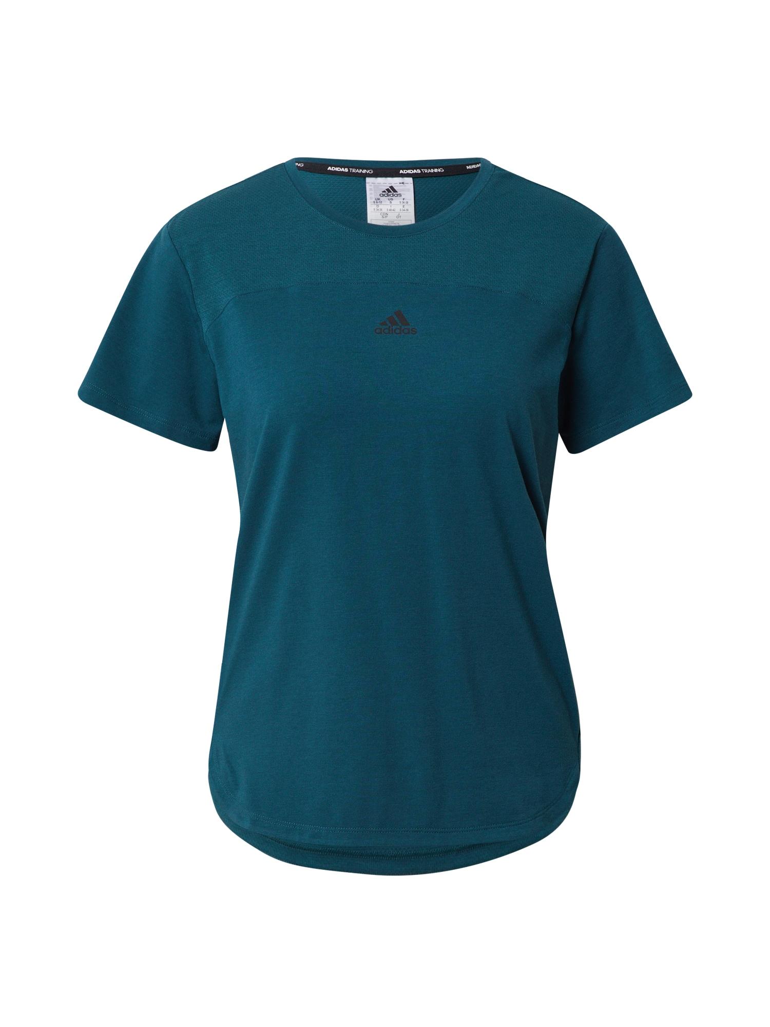 ADIDAS PERFORMANCE Funkční tričko 'Aeroready'  petrolejová