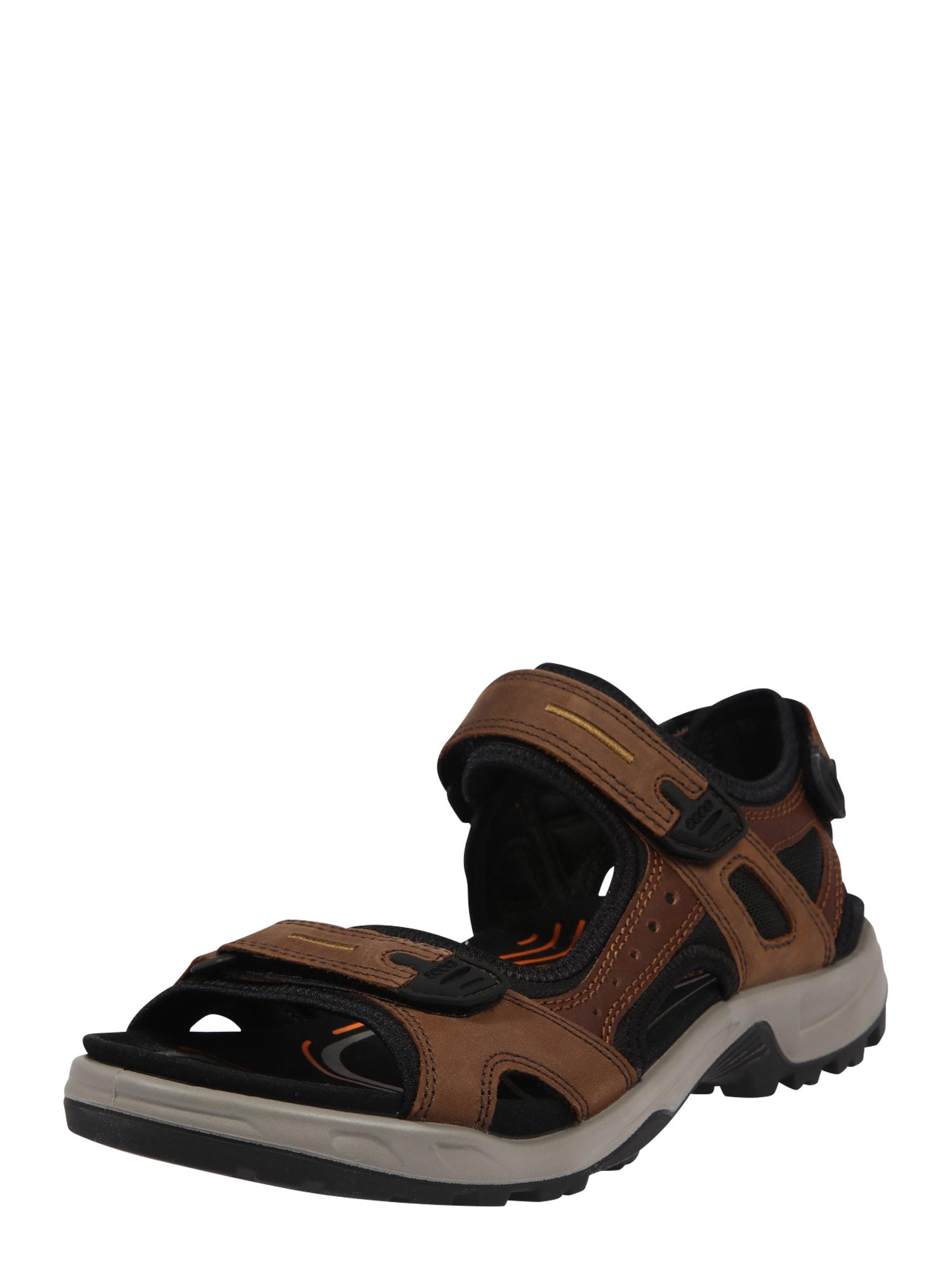 ECCO Sportinio tipo sandalai ruda
