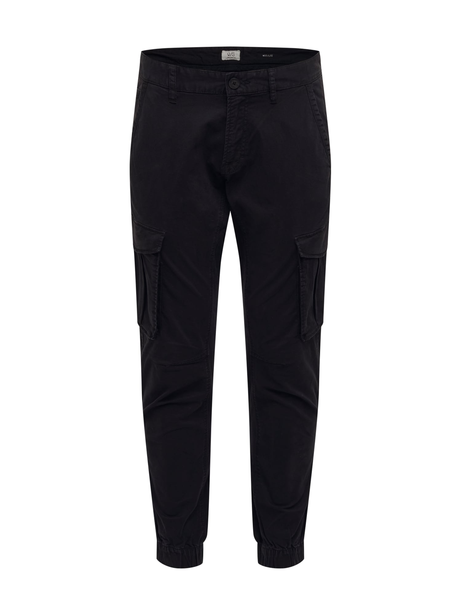 Q/S designed by Laisvo stiliaus kelnės juoda