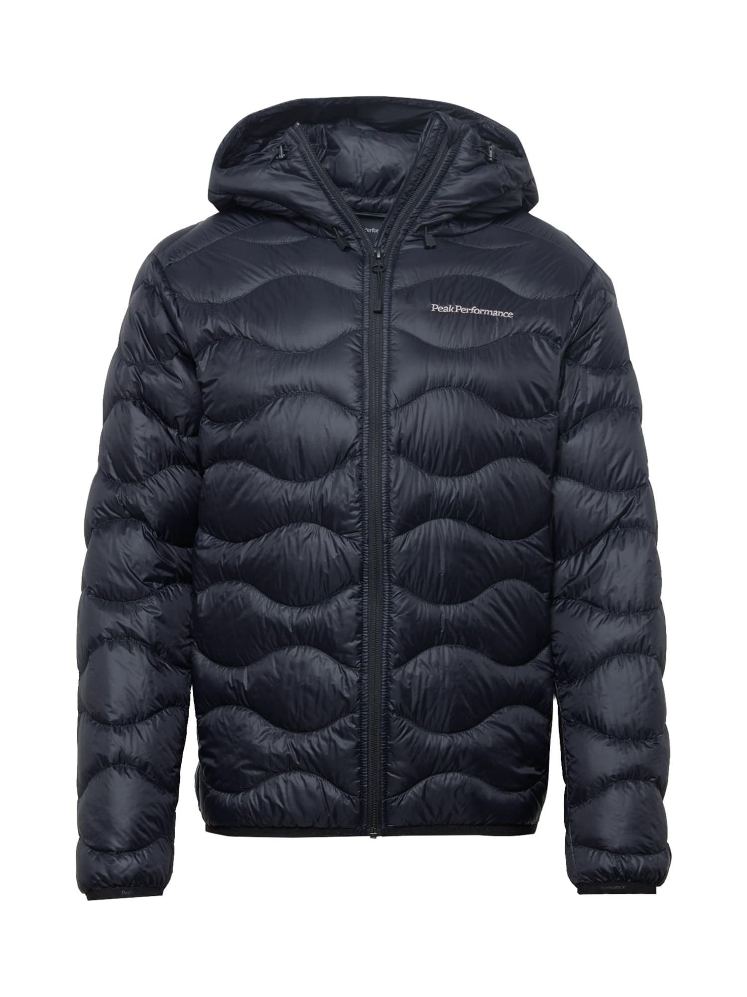 PEAK PERFORMANCE Outdoorová bunda  černá