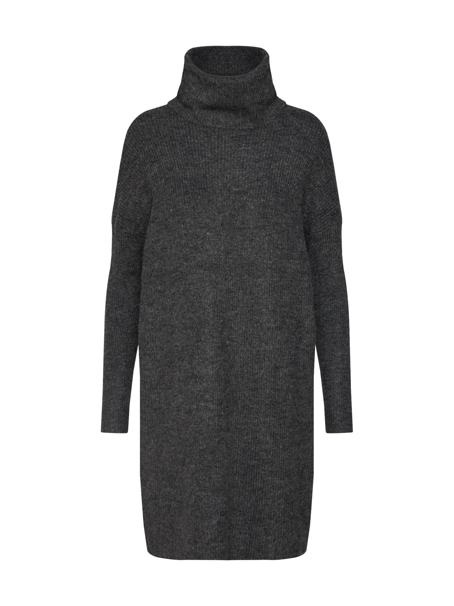 ONLY Megzta suknelė tamsiai pilka