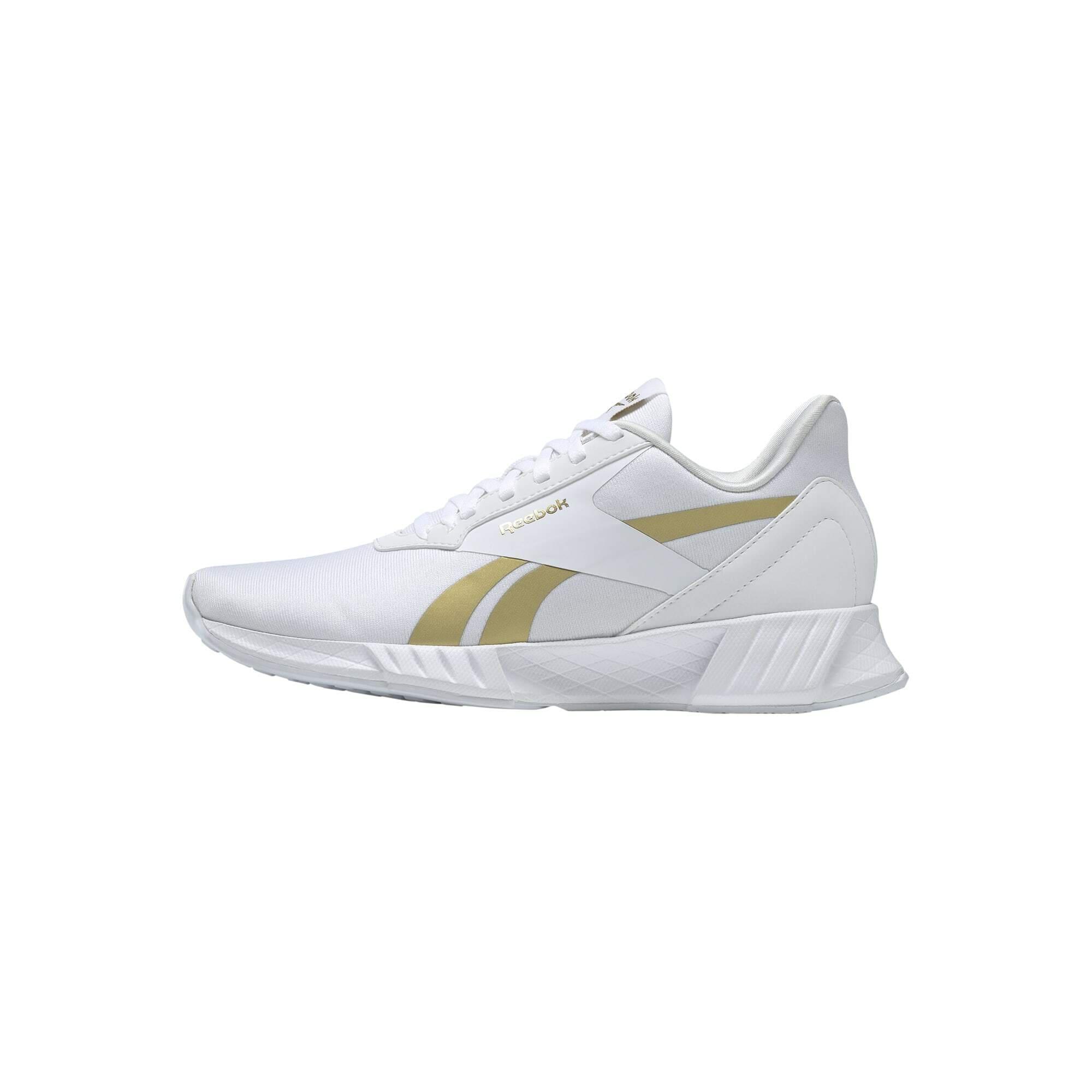 REEBOK Bėgimo batai balta / aukso geltonumo spalva