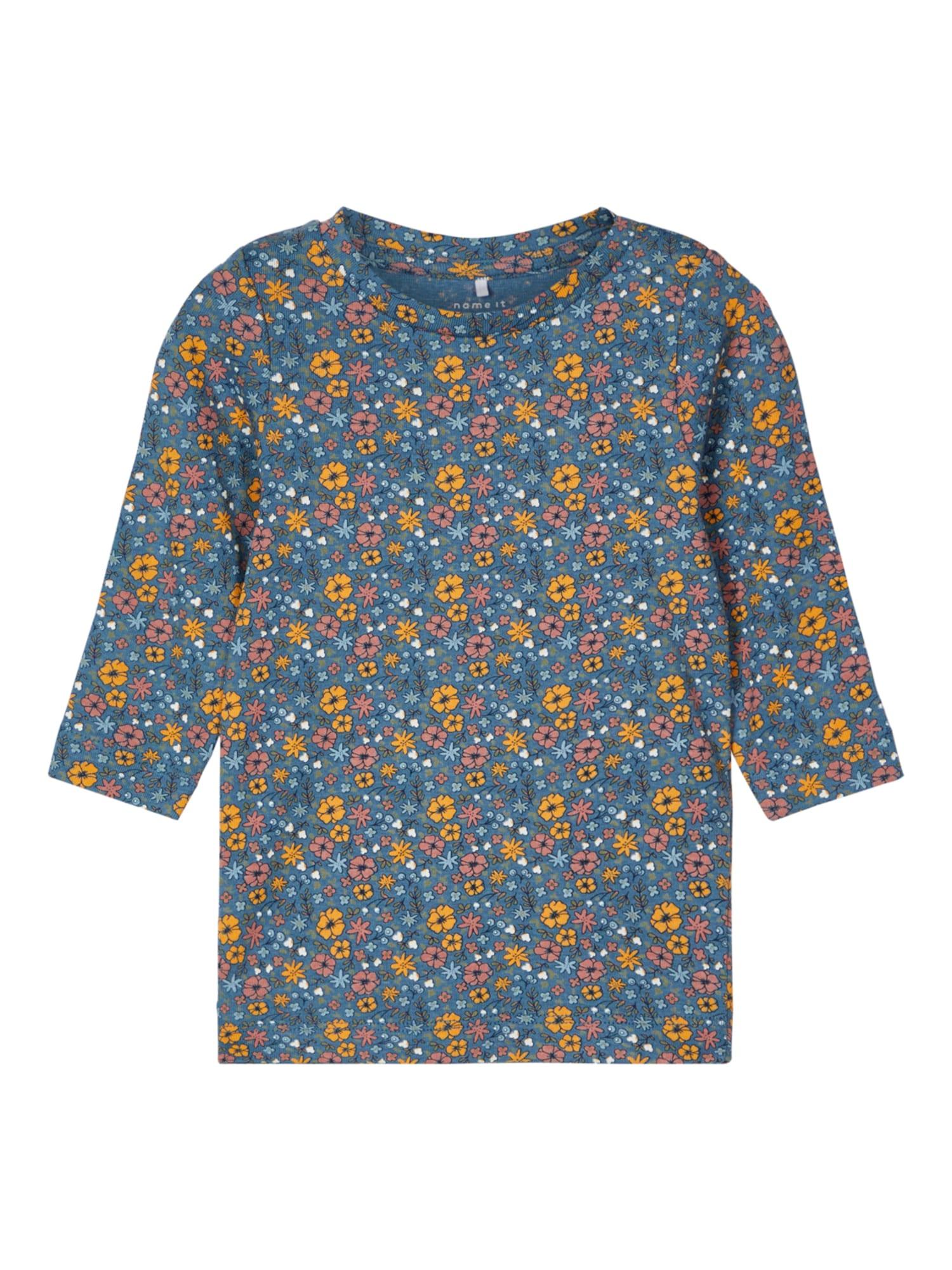 NAME IT Marškinėliai mišrios spalvos / mėlyna