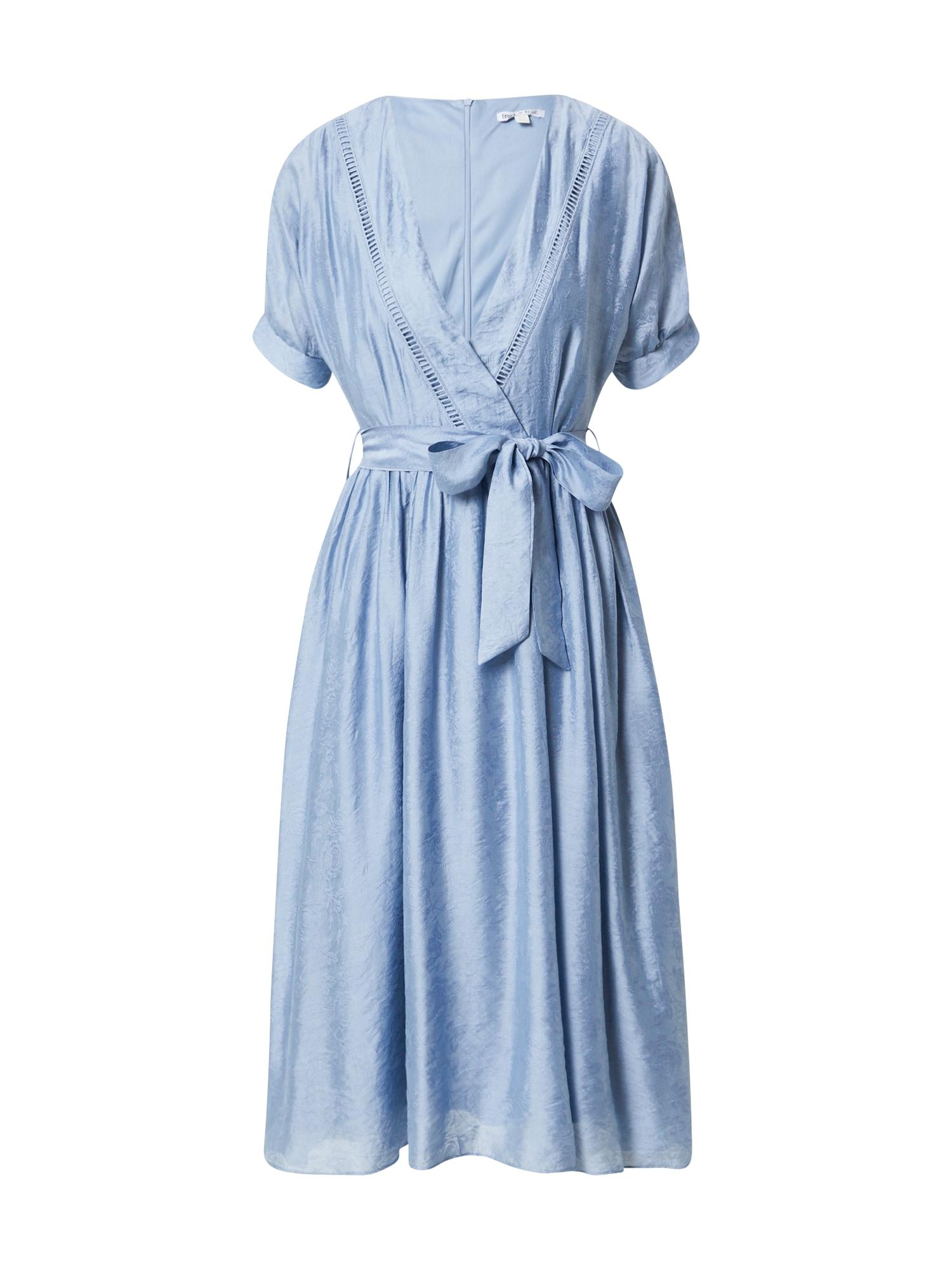 Frock and Frill Suknelė mėlyna dūmų spalva