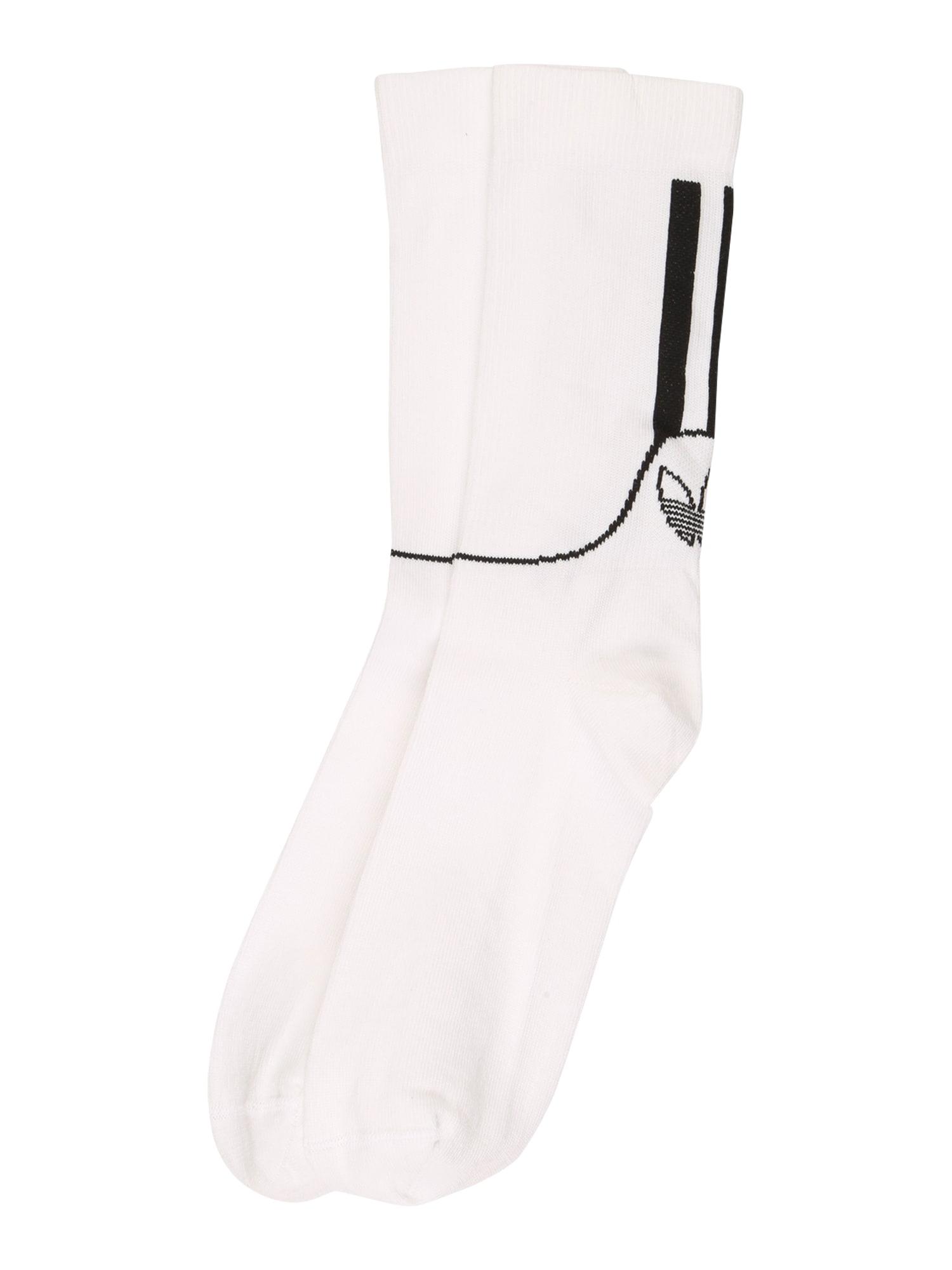 ADIDAS ORIGINALS Ponožky  bílá / černá