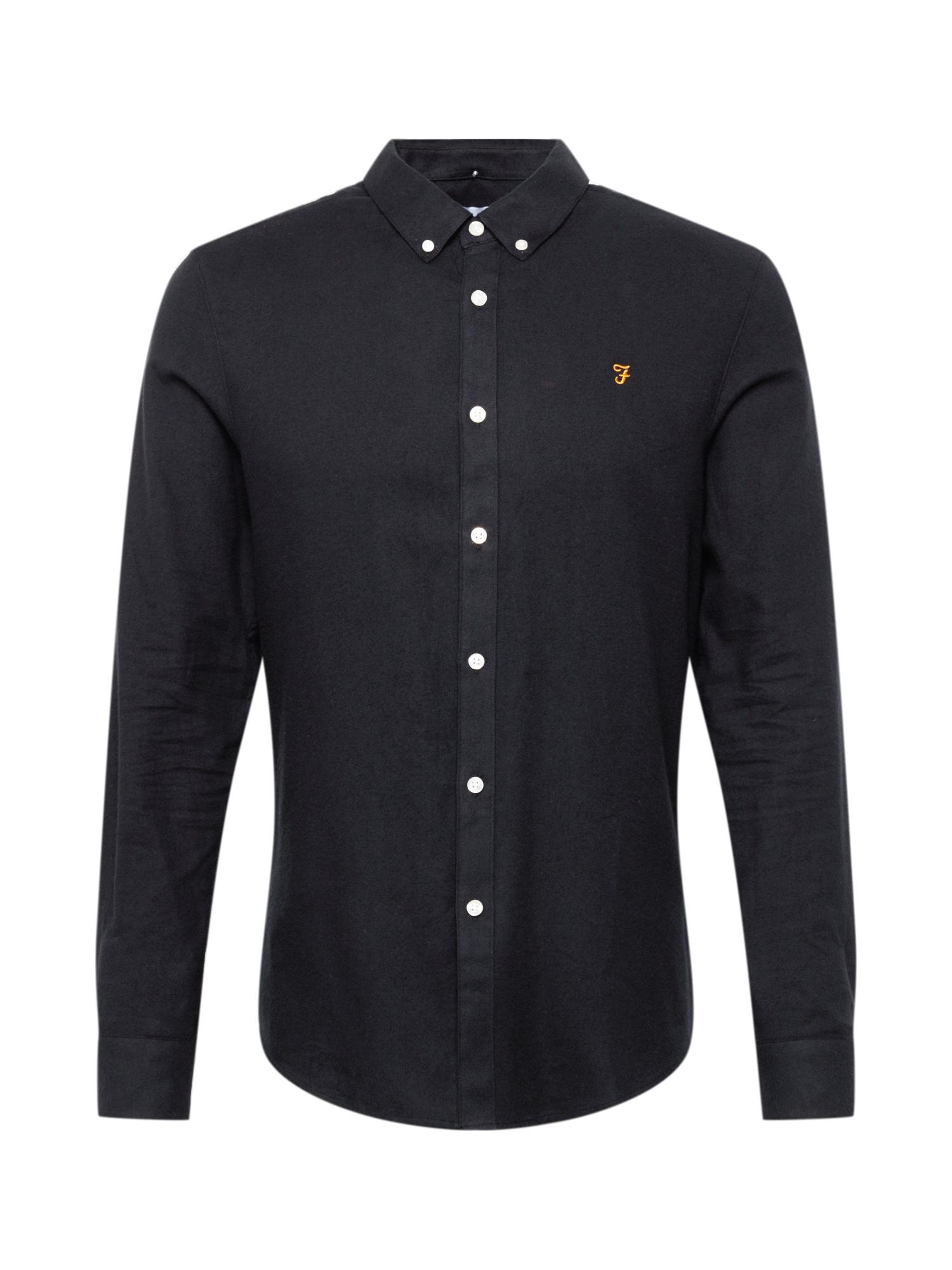 FARAH Košile  černá / bílá