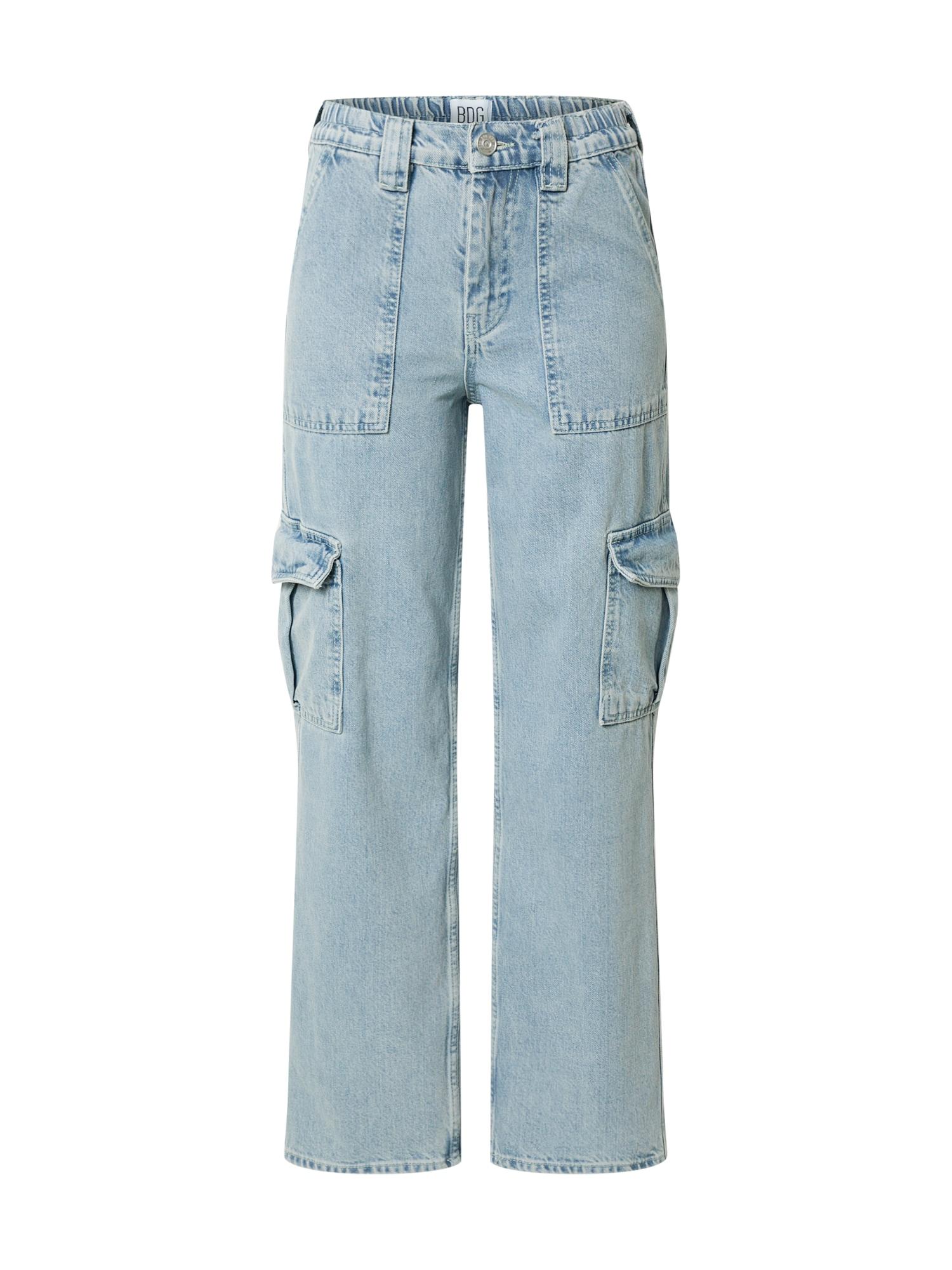 BDG Urban Outfitters Darbinio stiliaus džinsai tamsiai (džinso) mėlyna