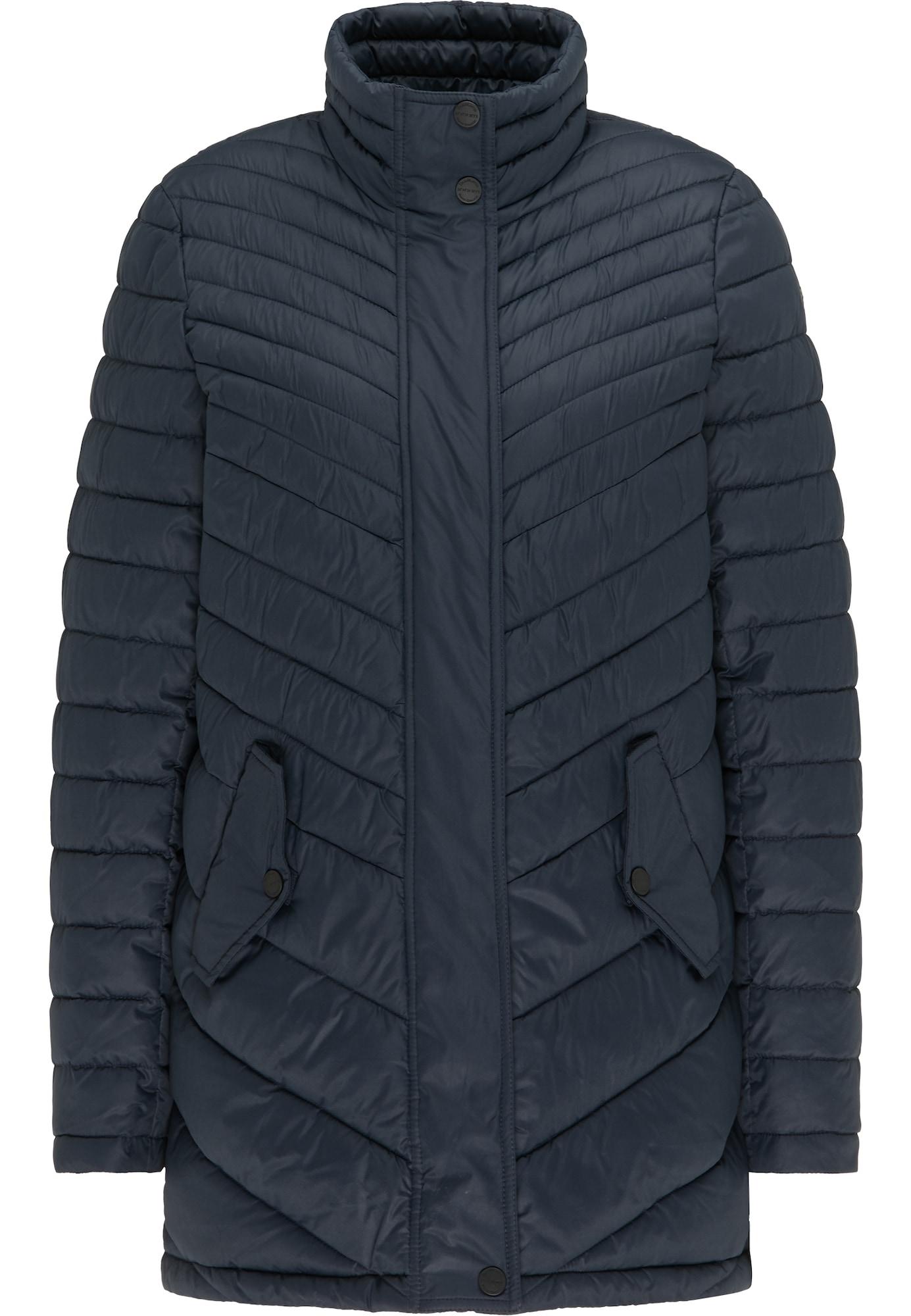 DreiMaster Klassik Žieminis paltas nakties mėlyna