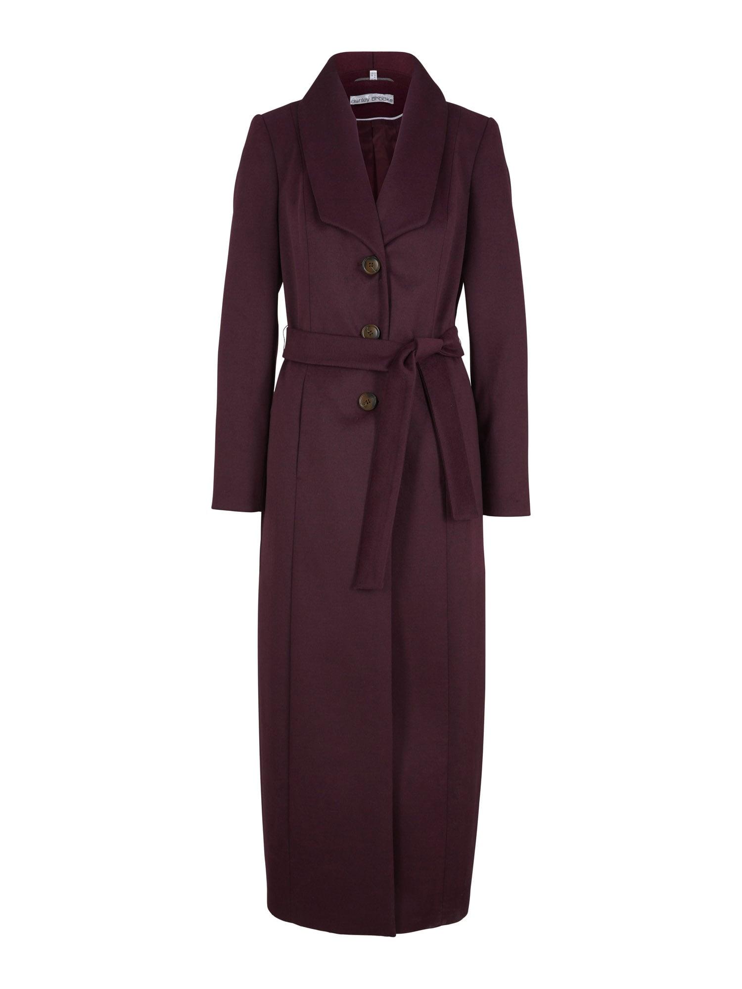 heine Demisezoninis paltas uogų spalva