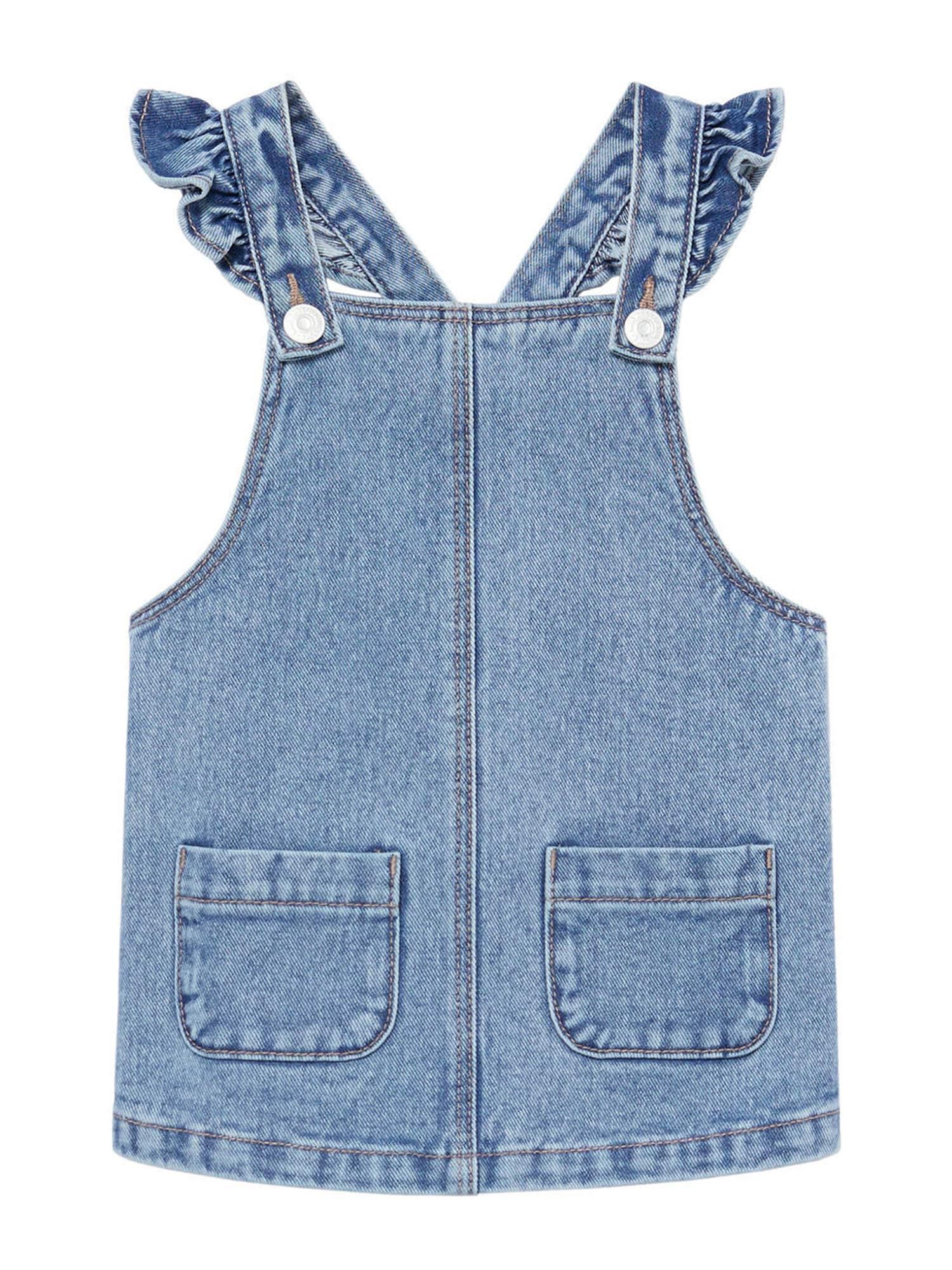 MANGO KIDS Šaty  modrá džínovina