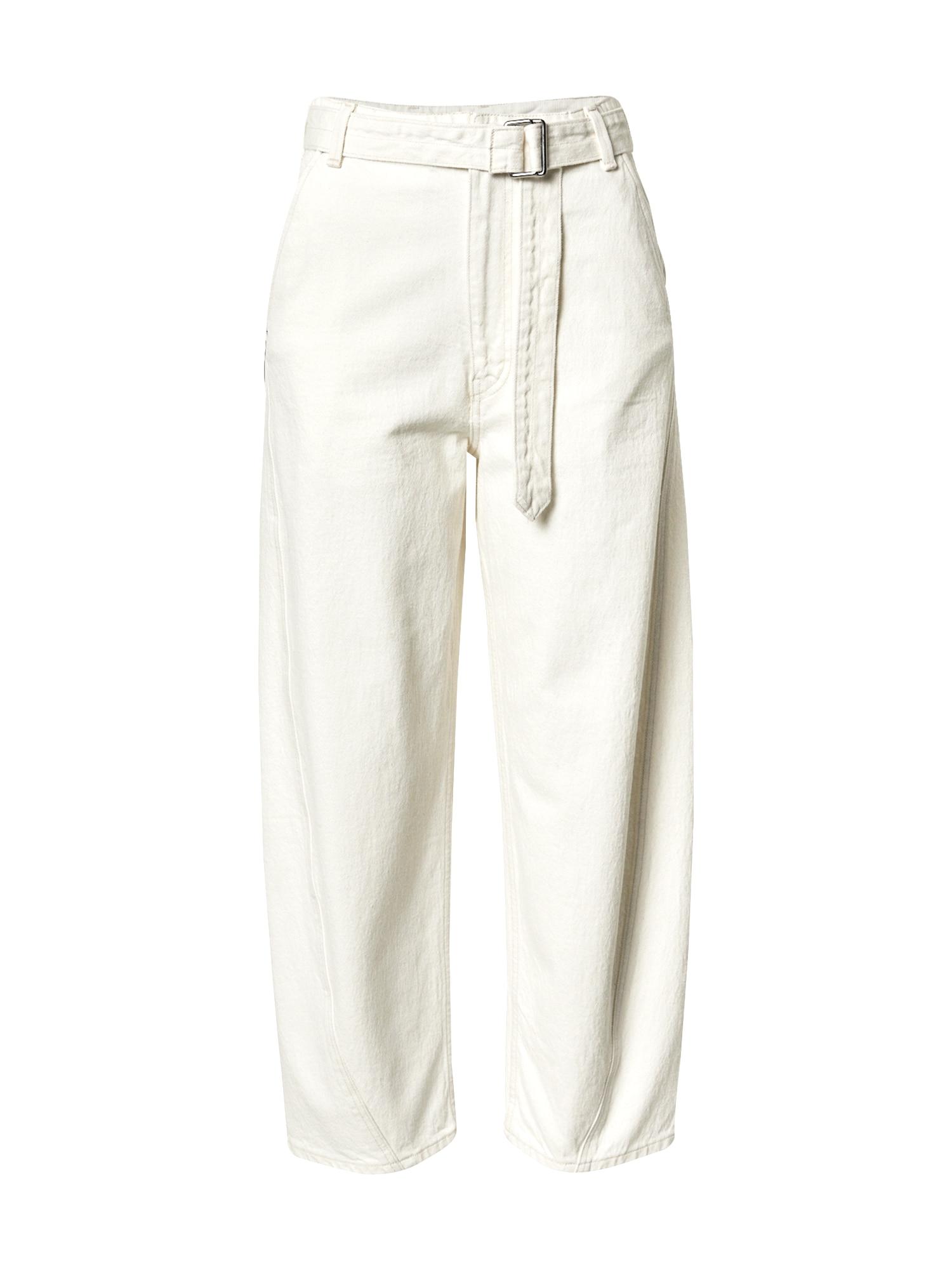 Levi's Made & Crafted Džinsai balto džinso spalva
