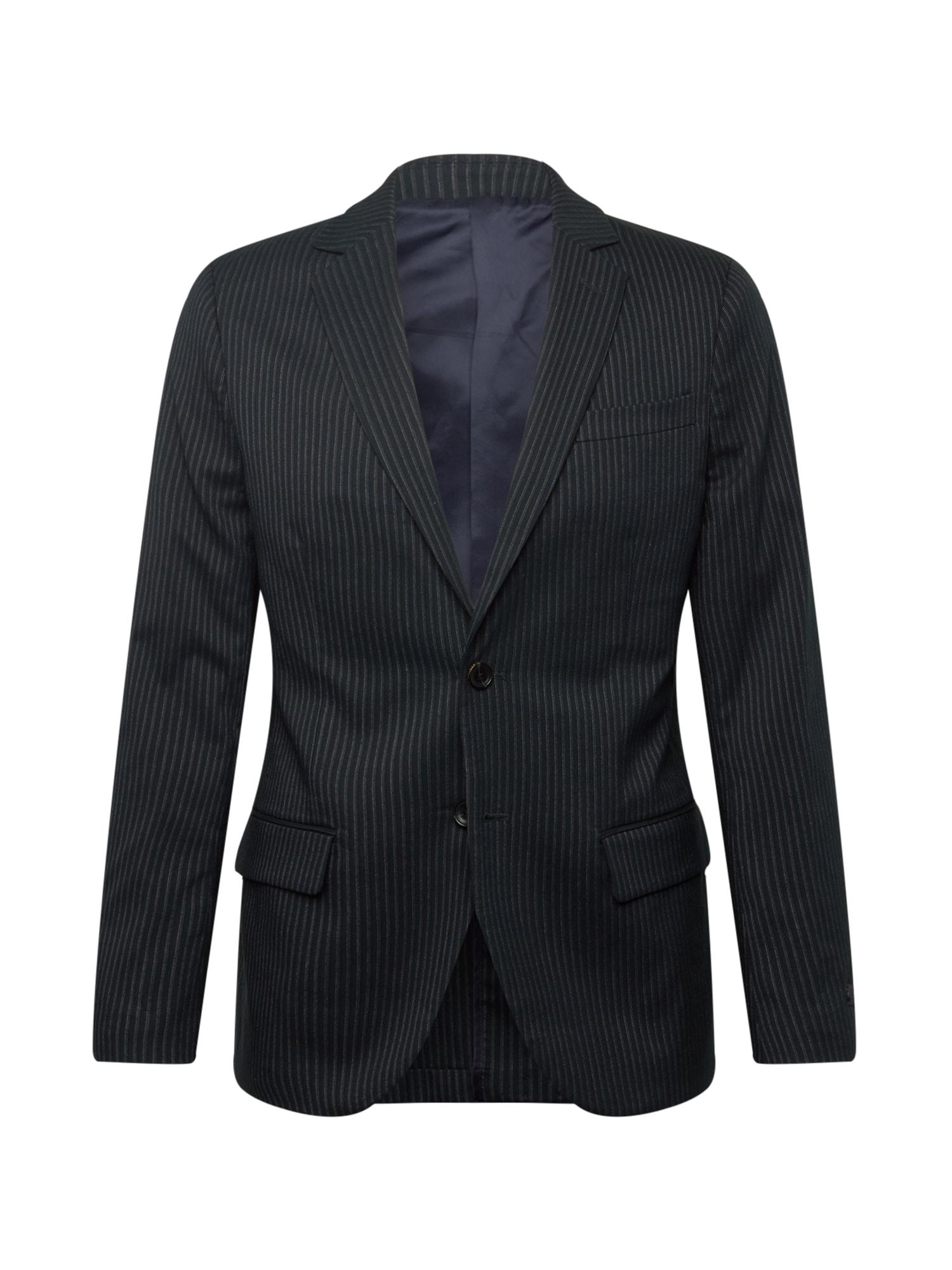SCOTCH & SODA Dalykinio stiliaus švarkas juoda / pilka