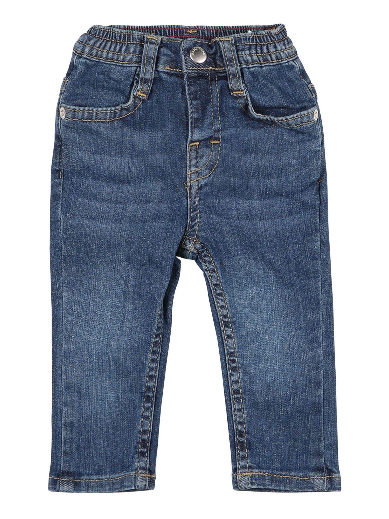 KANZ Džinsai tamsiai (džinso) mėlyna