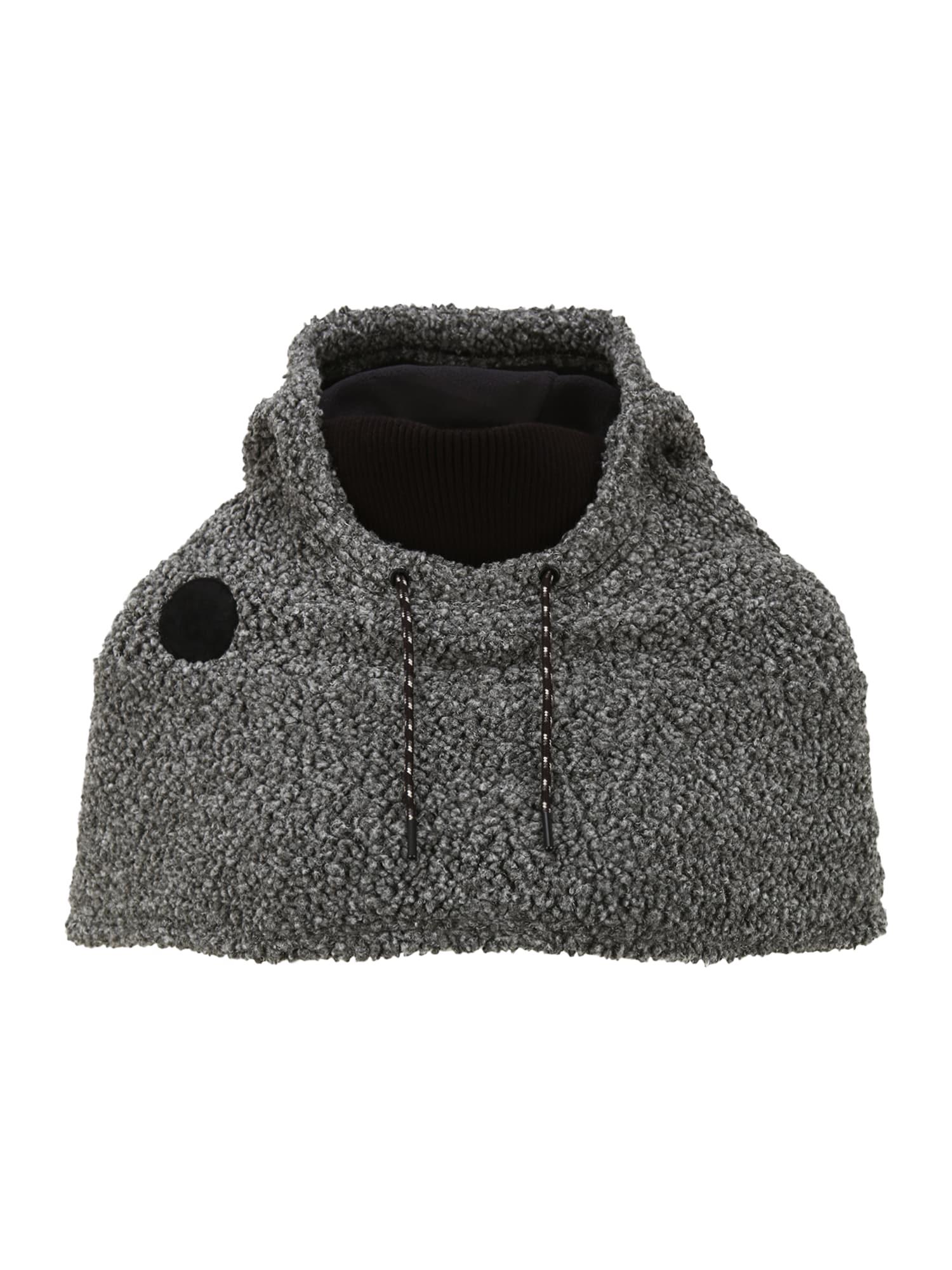 BURTON Sportinė kepurė 'Larosa' margai juoda / juoda / pilka