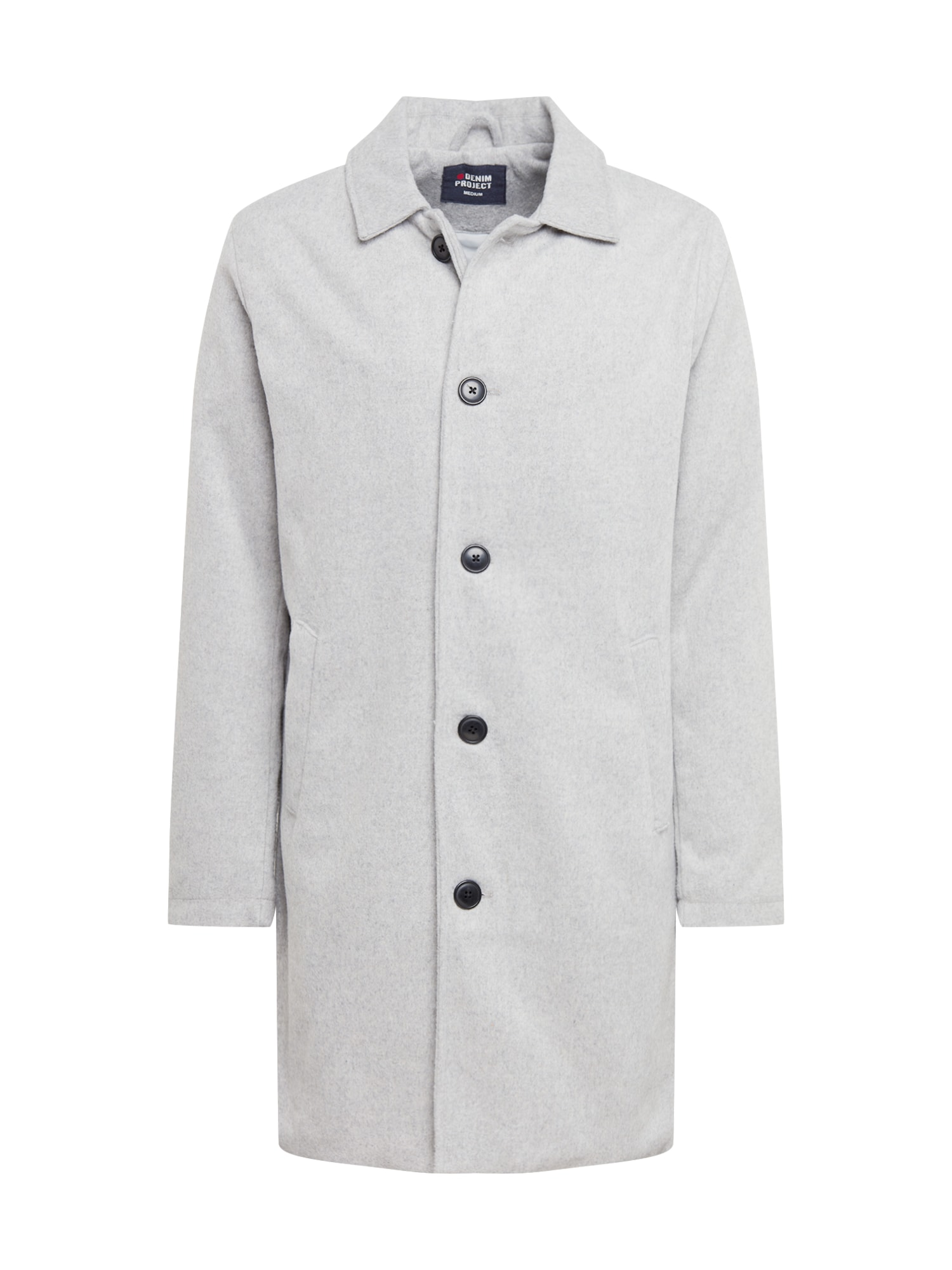 Denim Project Demisezoninis paltas pilka