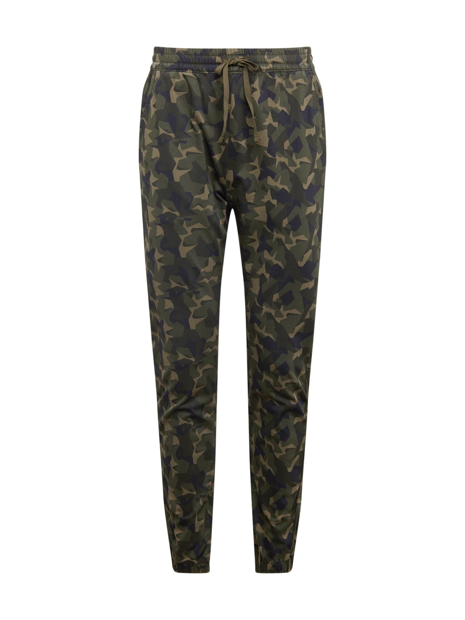 LEVI'S Kalhoty 'JOGGERS'  béžová / olivová / tmavě modrá
