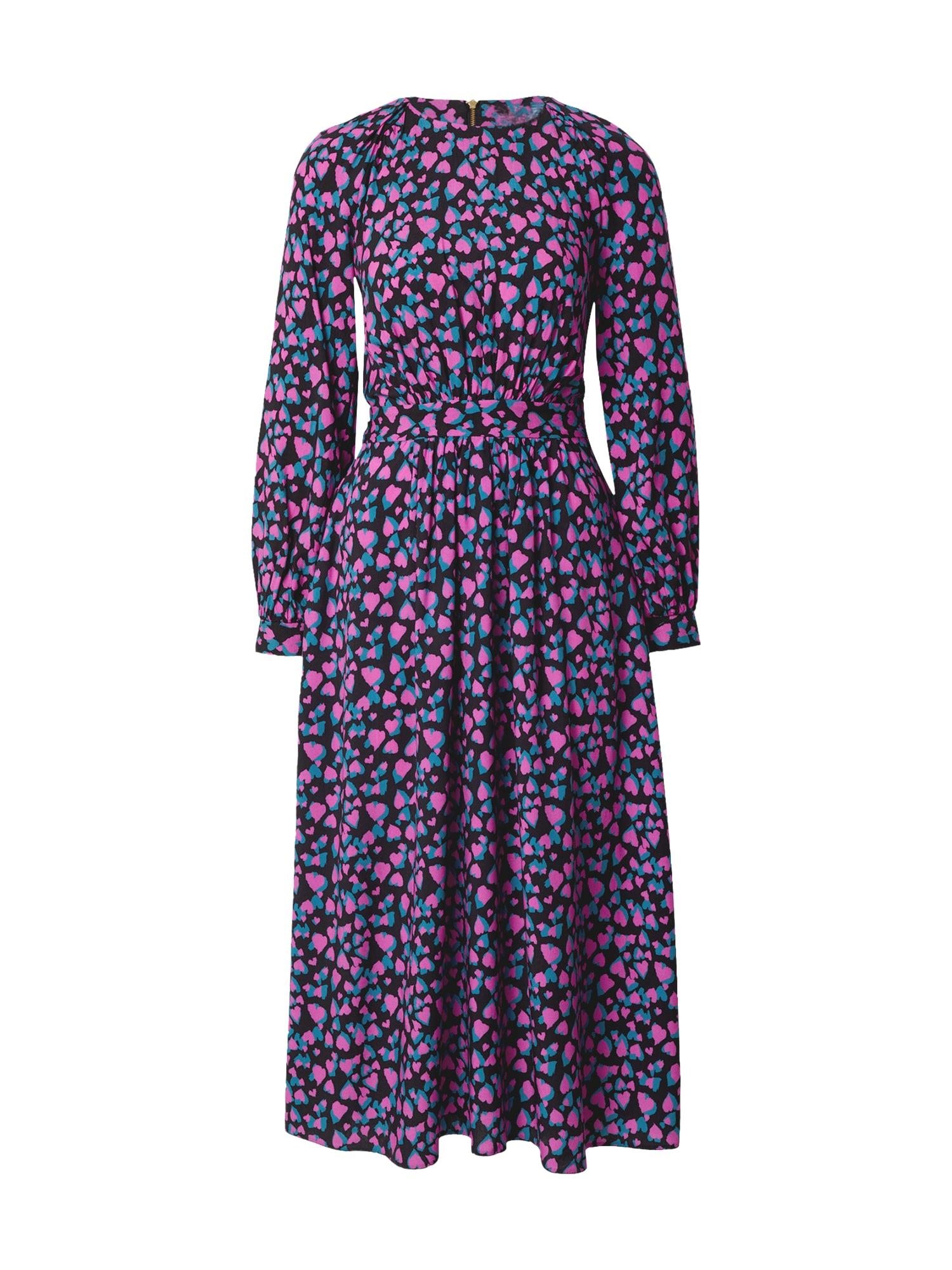 Closet London Suknelė rožinė / turkio spalva / juoda