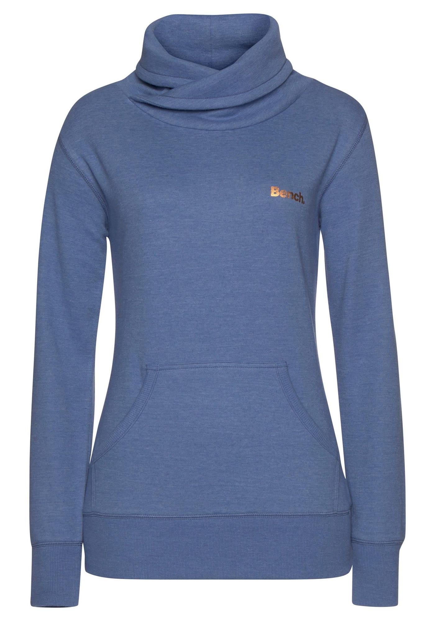 BENCH Megztinis be užsegimo tamsiai (džinso) mėlyna